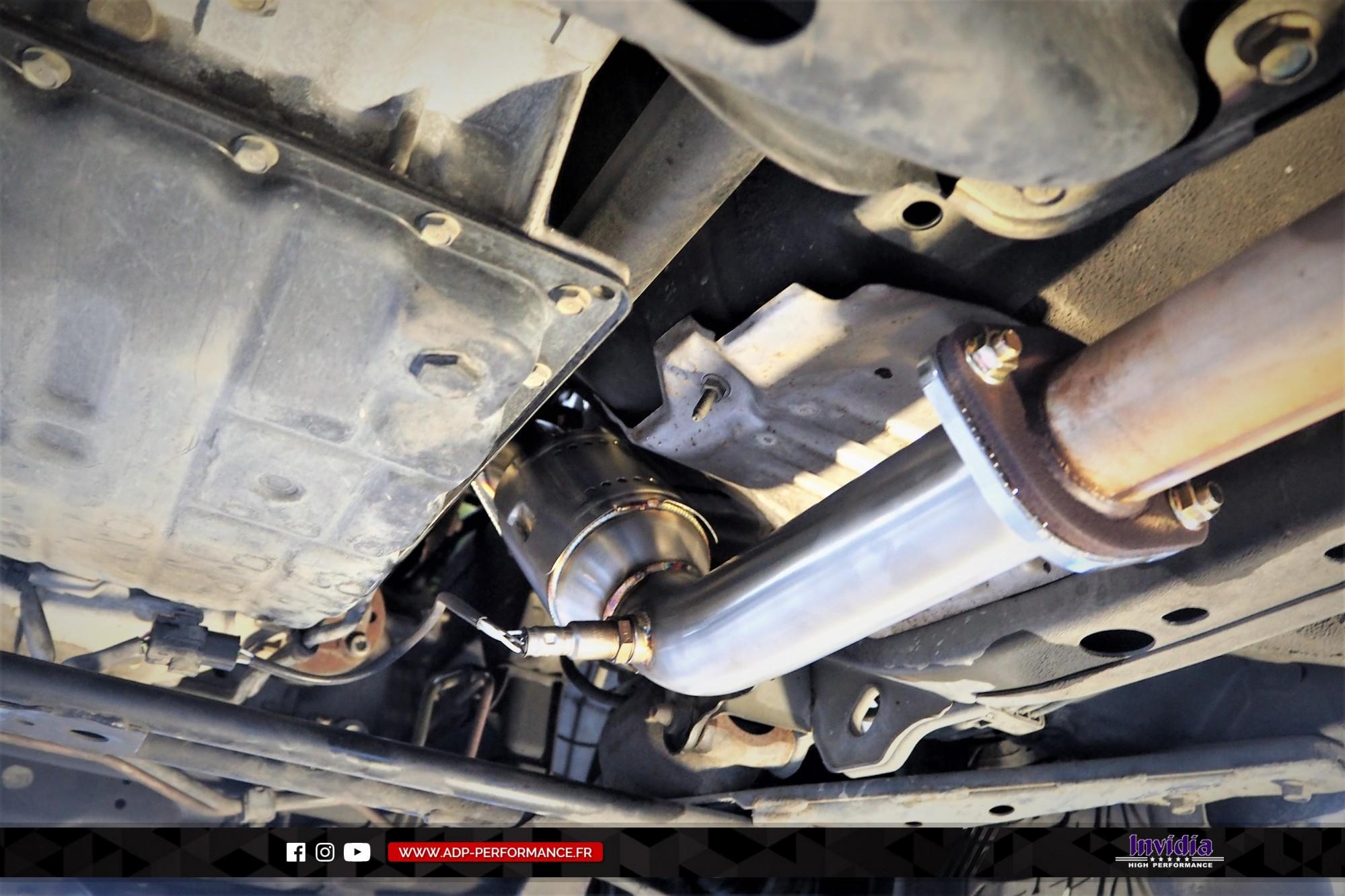 Catalyseur sport Invidia Aubagne - Infiniti FX35 - ADP Performance