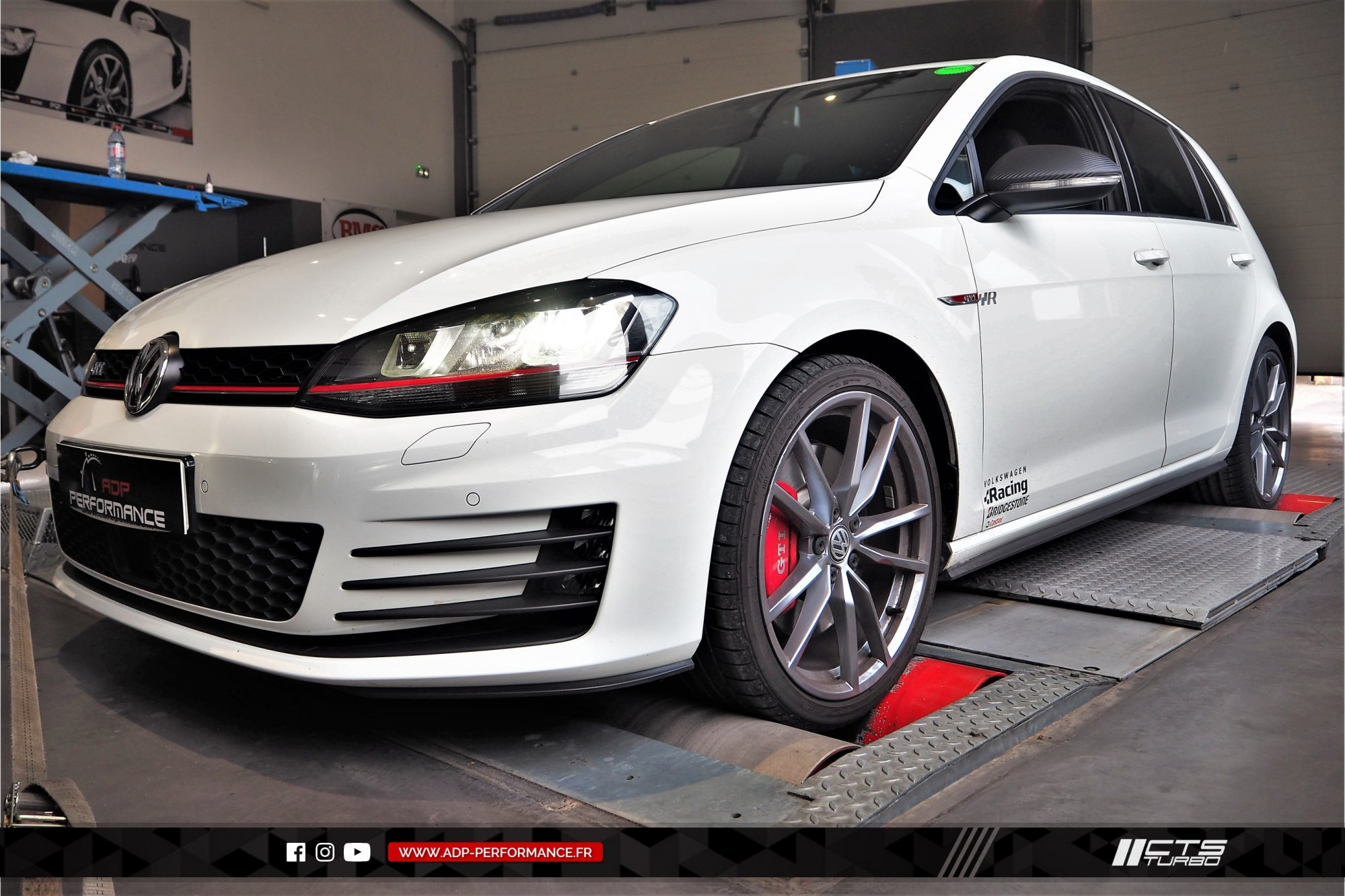 Ligne complète   catalyseur sport CTS Turbo Marseille - VW Golf 7 GTI - ADP Performance