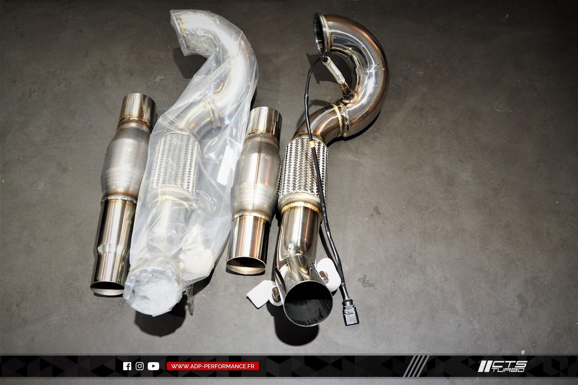 Ligne complète   catalyseur sport CTS Turbo Aix en Provence - VW Golf 7 GTI - ADP Performance