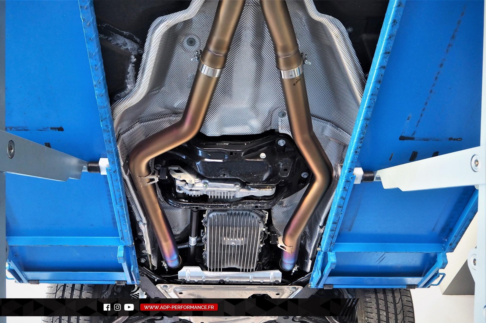 Reprogrammation moteur Plan de Campagne - Echappement Akrapovic - BMW X5 M 4.4 V8 Bi-Turbo