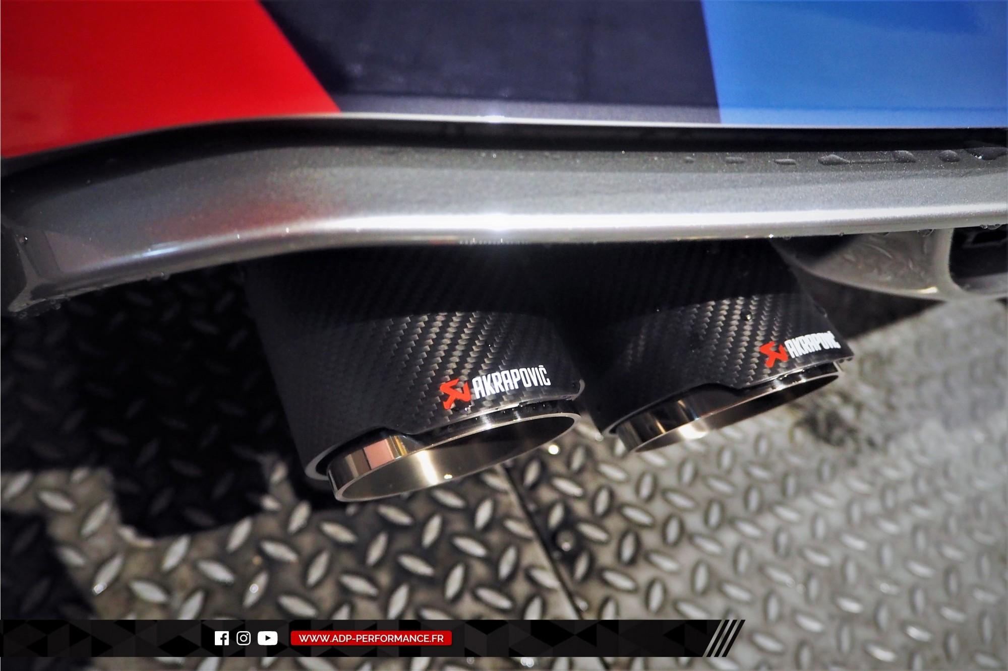 Reprogrammation moteur Arles - Echappement Akrapovic - BMW X5 M 4.4 V8 Bi-Turbo