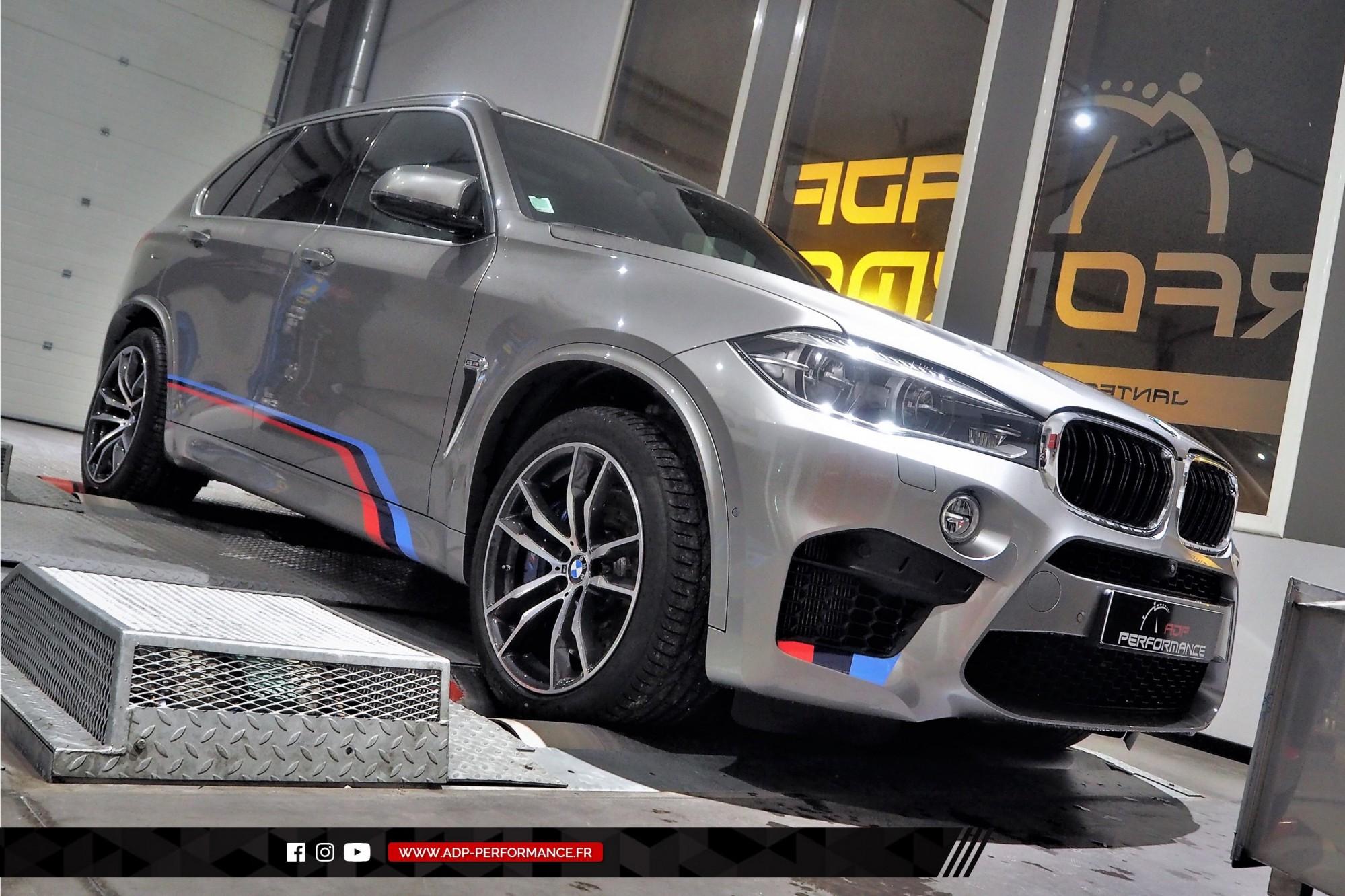 Reprogrammation moteur Marseille - Echappement Akrapovic - BMW X5 M 4.4 V8 Bi-Turbo