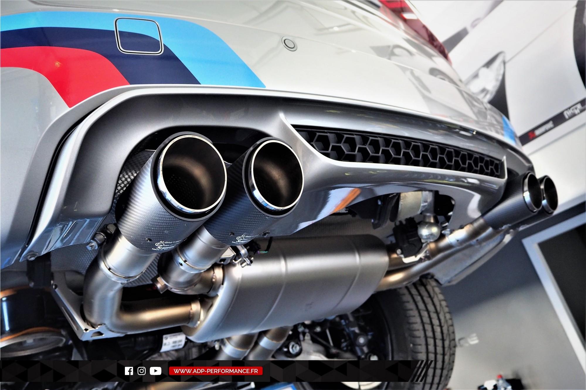 Reprogrammation moteur Salon de Provence - Echappement Akrapovic - BMW X5 M 4.4 V8 Bi-Turbo