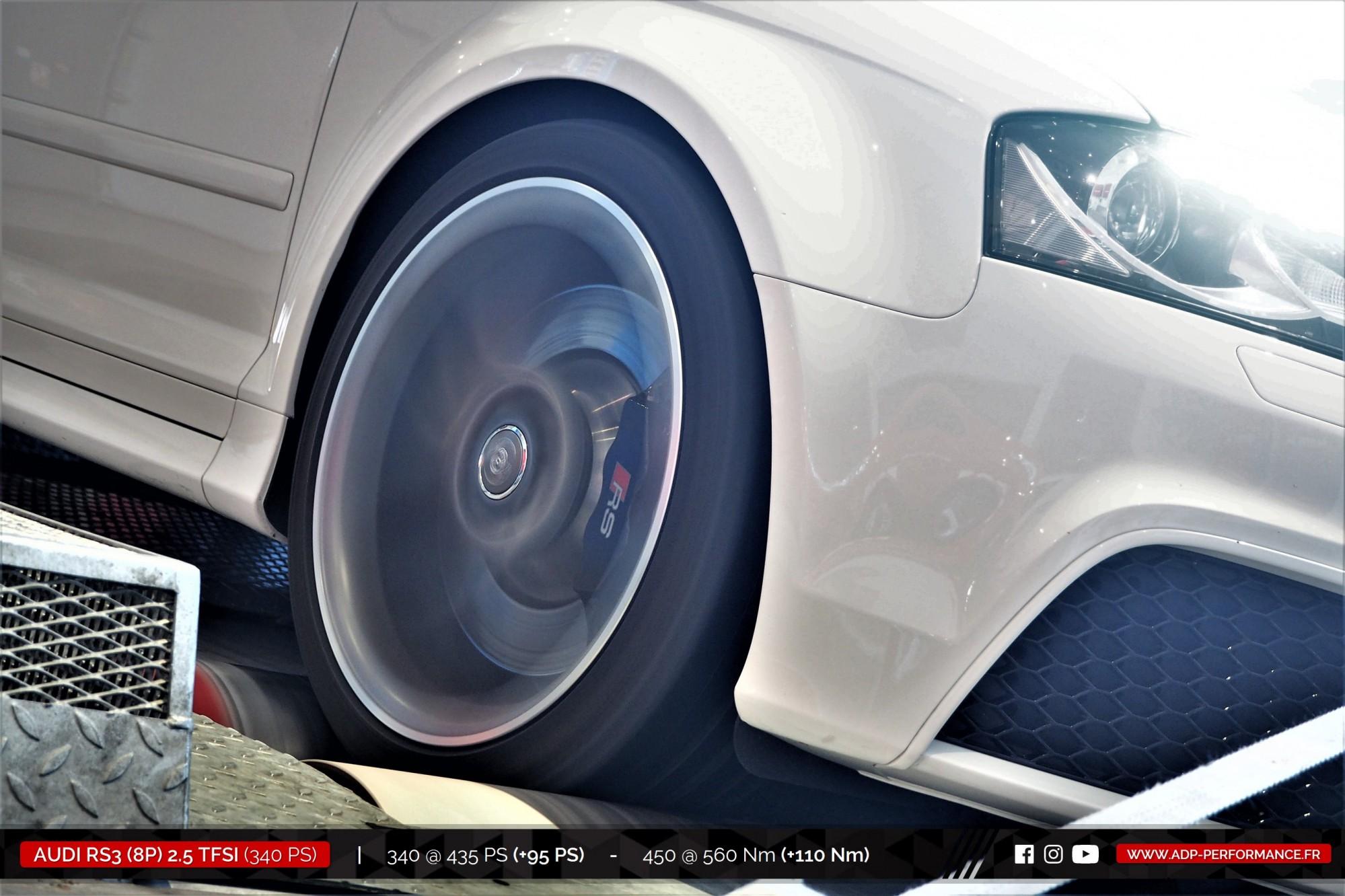 Reprogrammation moteur Marignane - Audi RS3 8P 2.5 TFSI 340cv - ADP Performance