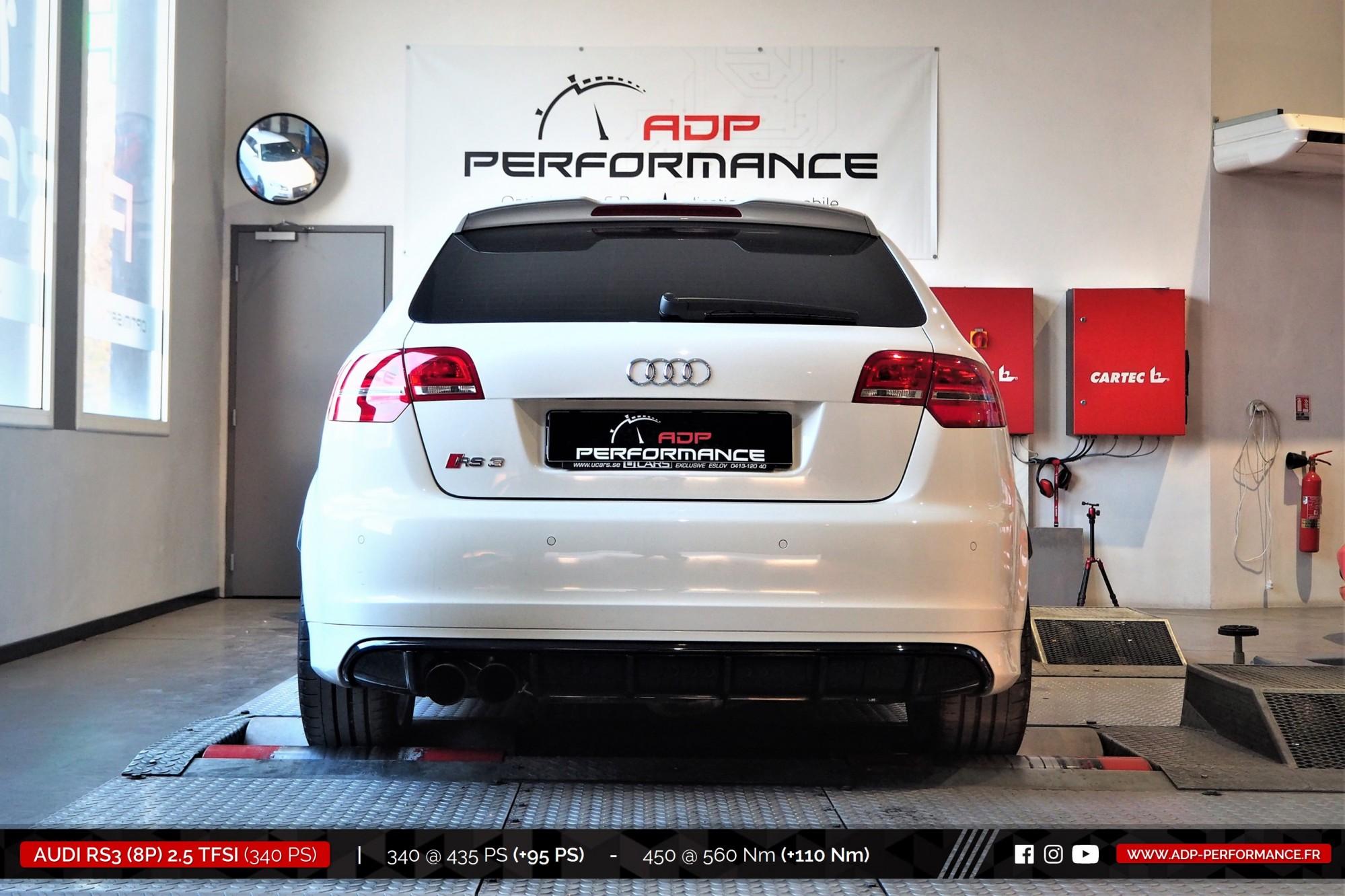 Reprogrammation moteur St Victoret - Audi RS3 8P 2.5 TFSI 340cv - ADP Performance