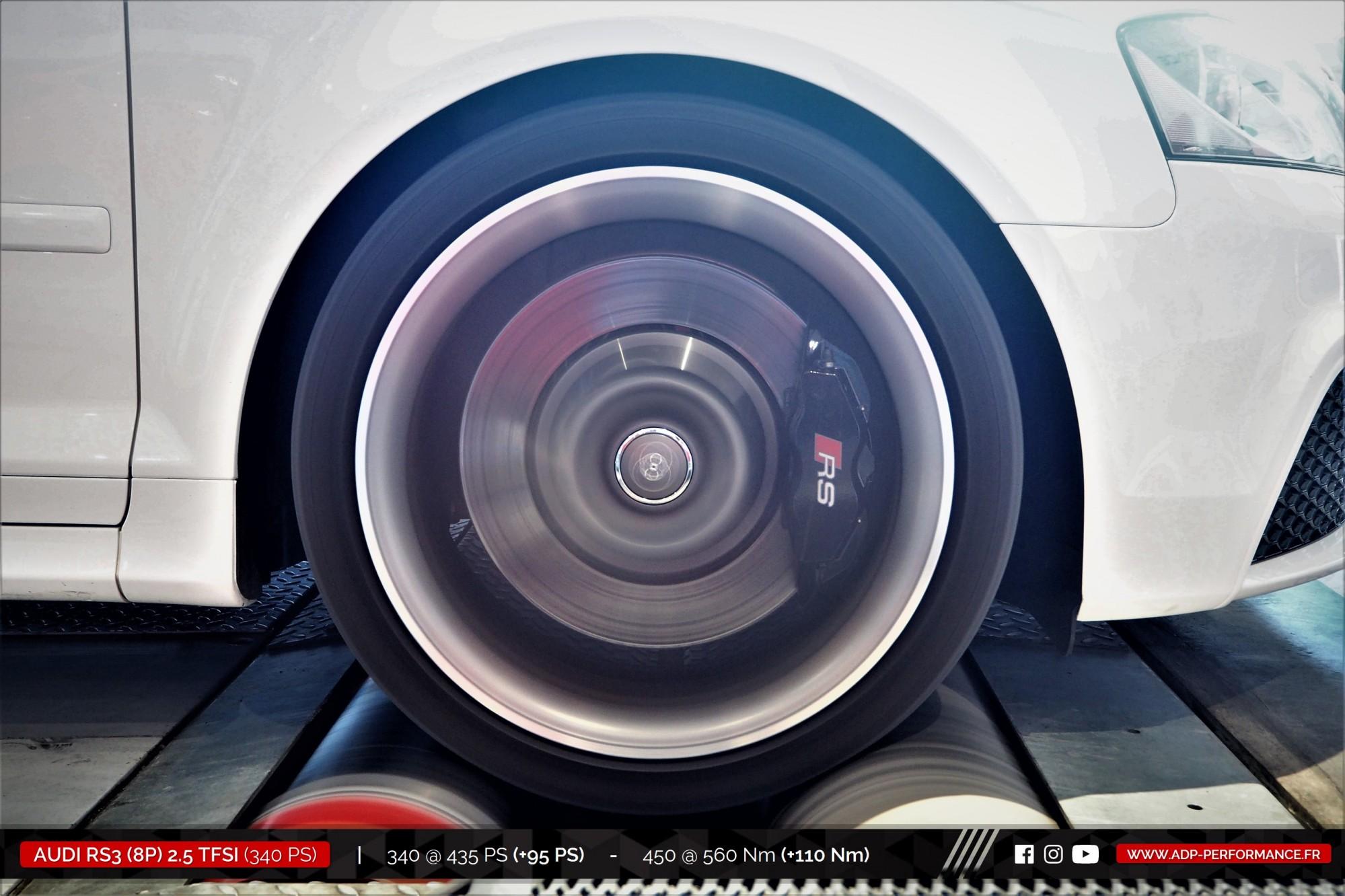 Reprogrammation moteur Nimes - Audi RS3 8P 2.5 TFSI 340cv - ADP Performance