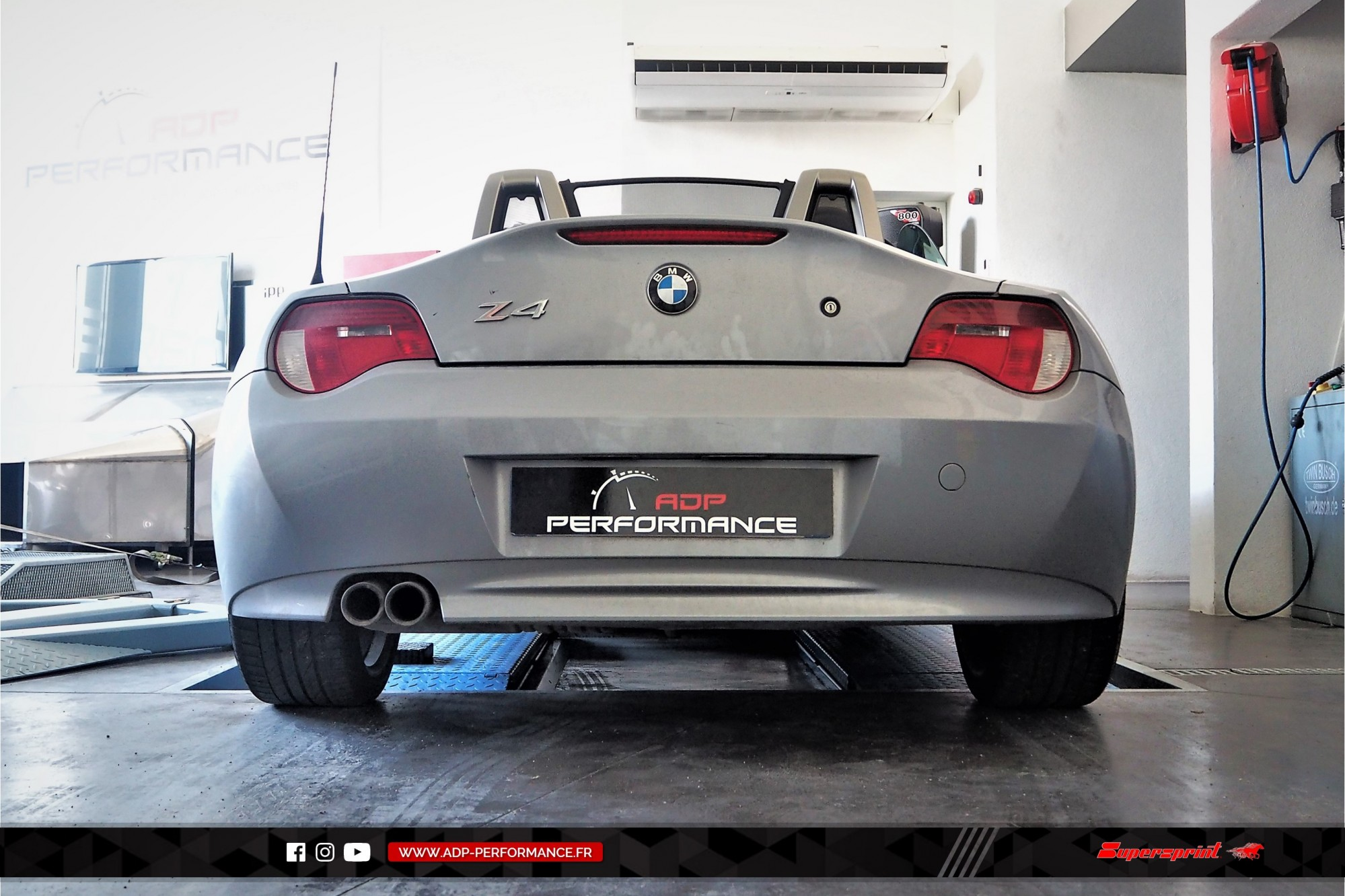 Silencieux Supersprint Manosque - BMW Z4 - ADP Performance