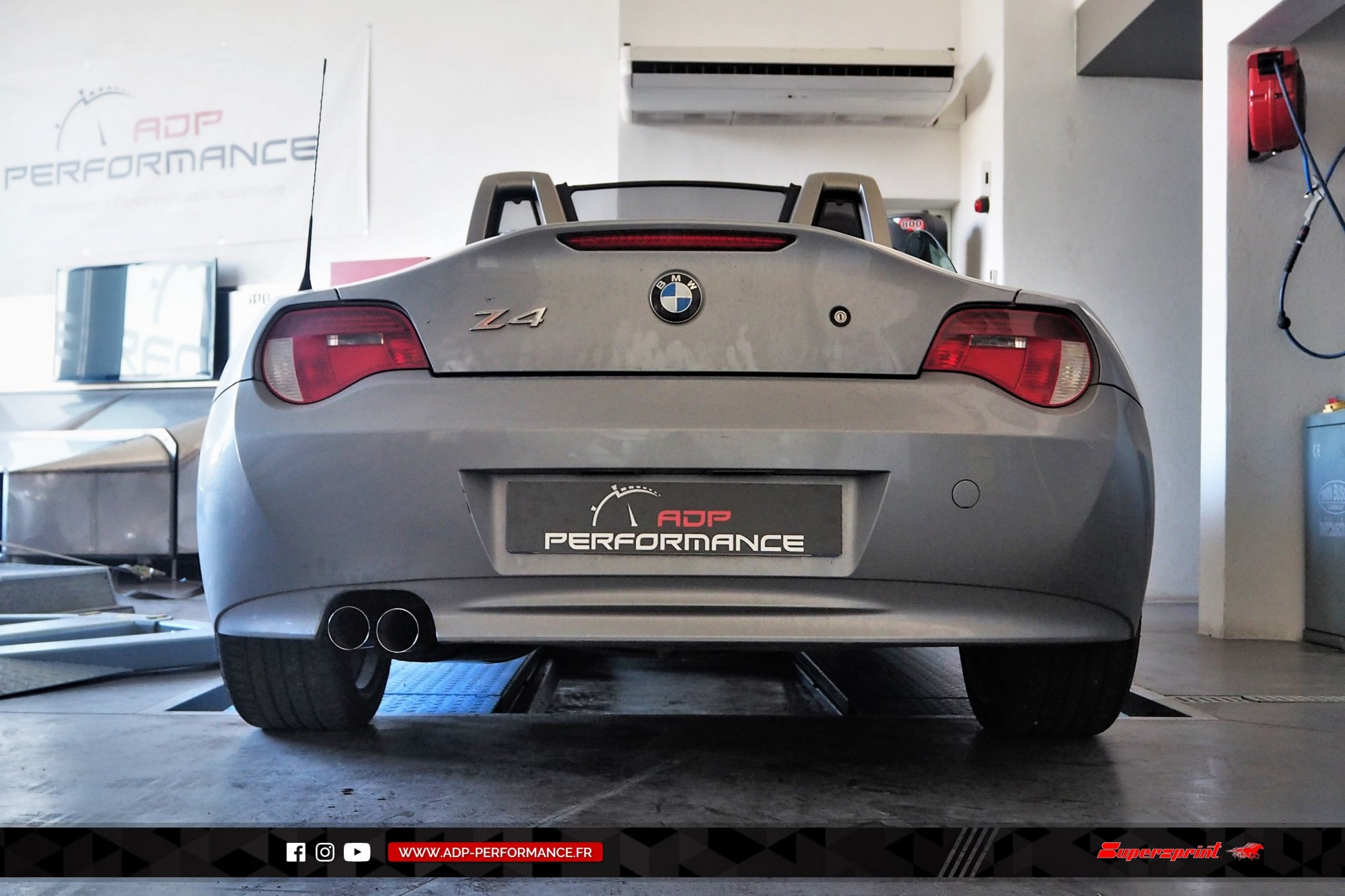 Silencieux Supersprint Salon de Provence - BMW Z4 - ADP Performance