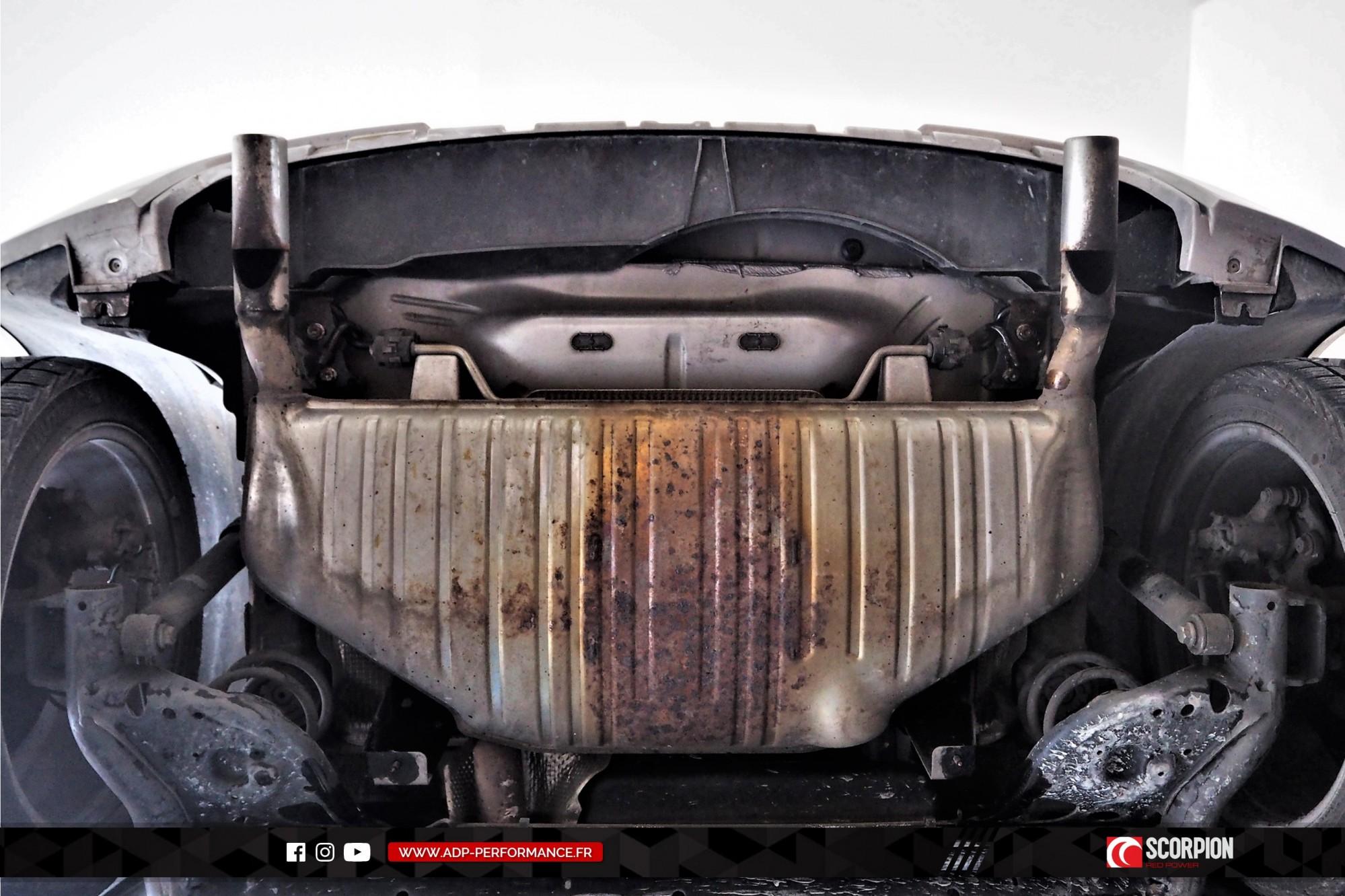 Catback Scorpion Nimes - Renault Clio 3 RS - ADP Performance