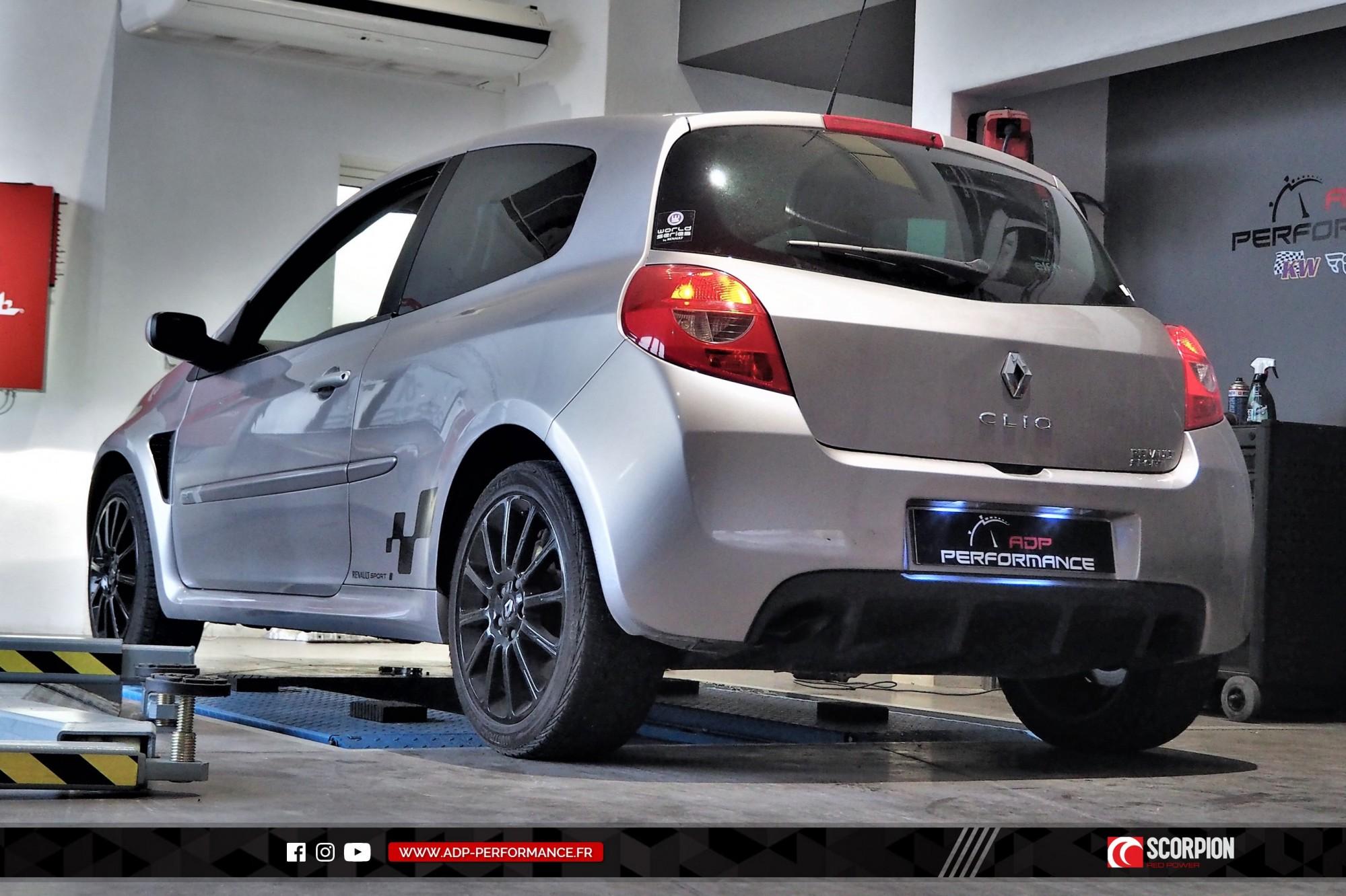 Catback Scorpion Plan de Campagne - Renault Clio 3 RS - ADP Performance