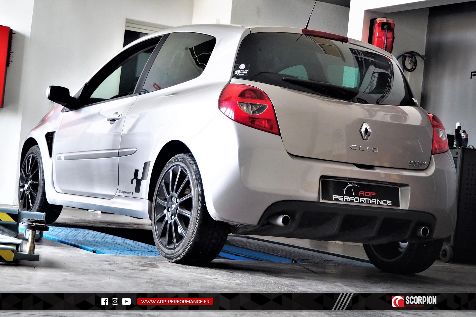 Catback Scorpion Arles - Renault Clio 3 RS - ADP Performance