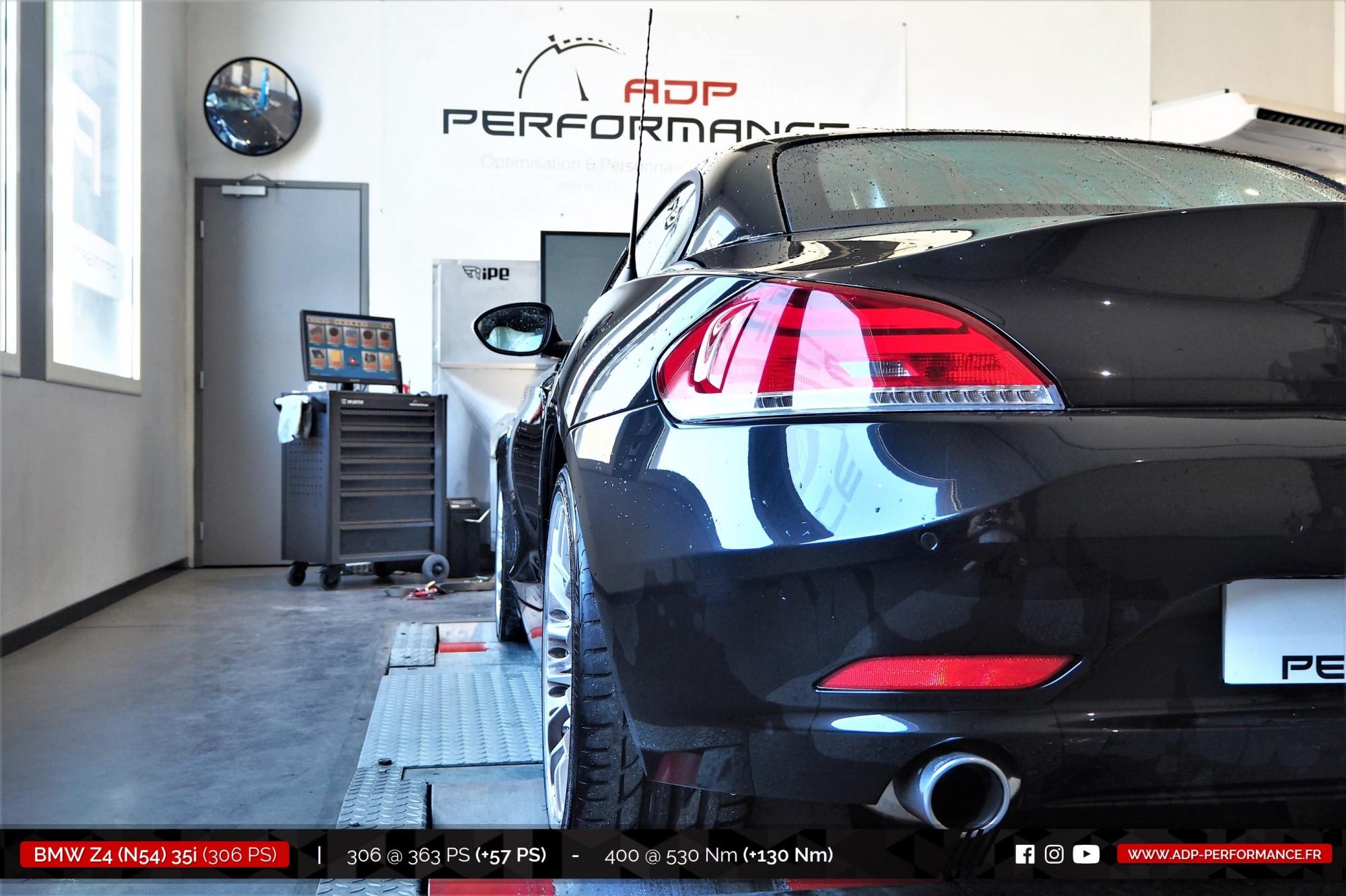 Reprogrammation moteur Marseille - BMW Z4 (N54) 35i 306cv - ADP Performance
