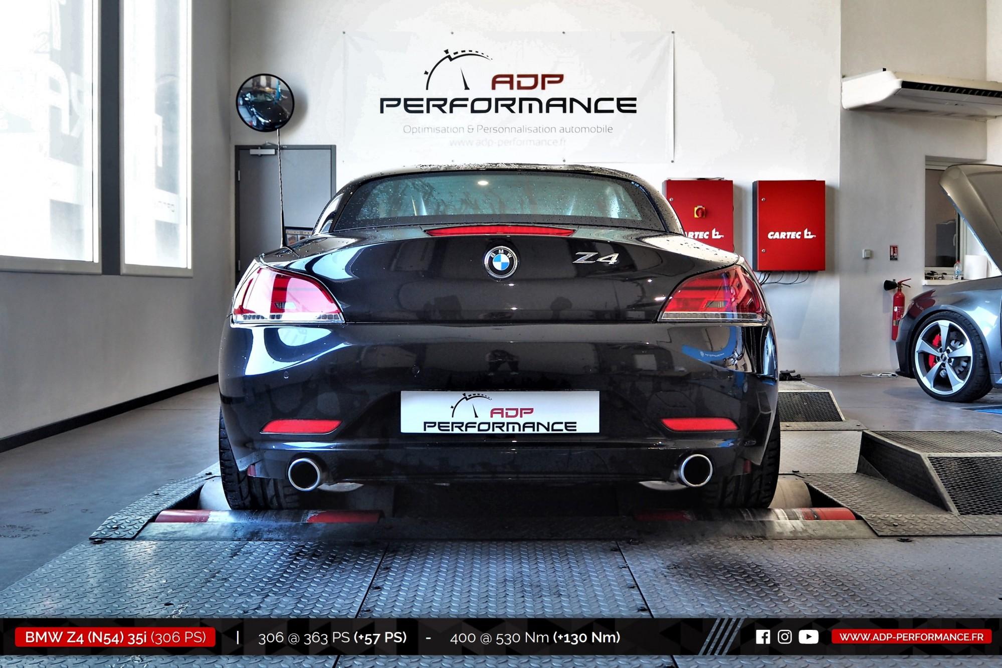 Reprogrammation moteur St Remy de Provence - BMW Z4 (N54) 35i 306cv - ADP Performance
