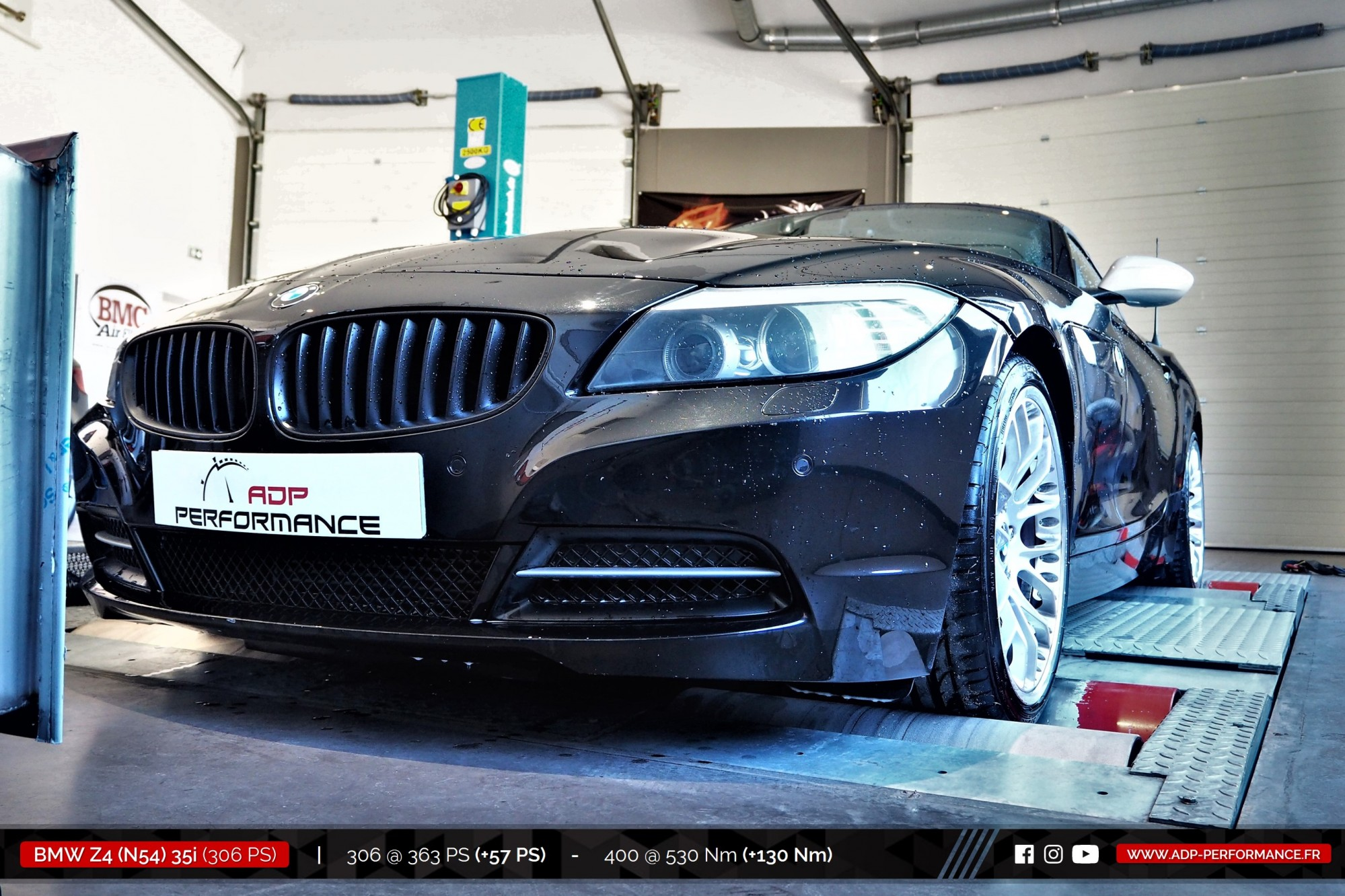 Reprogrammation moteur Salon de Provence - BMW Z4 (N54) 35i 306cv - ADP Performance