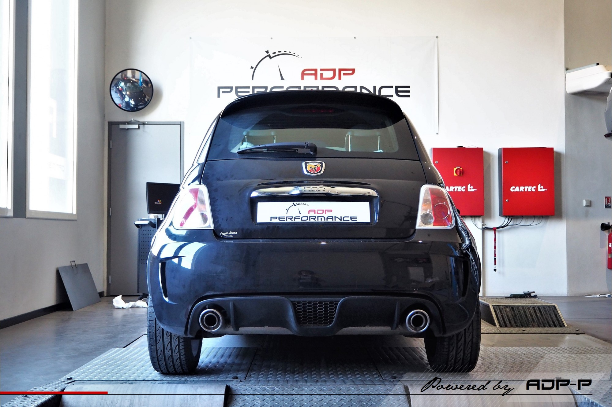 Reprogrammation moteur Salon de Provence - Fiat 500 Abarth 1.4 Tjet 135cv - ADP Performance