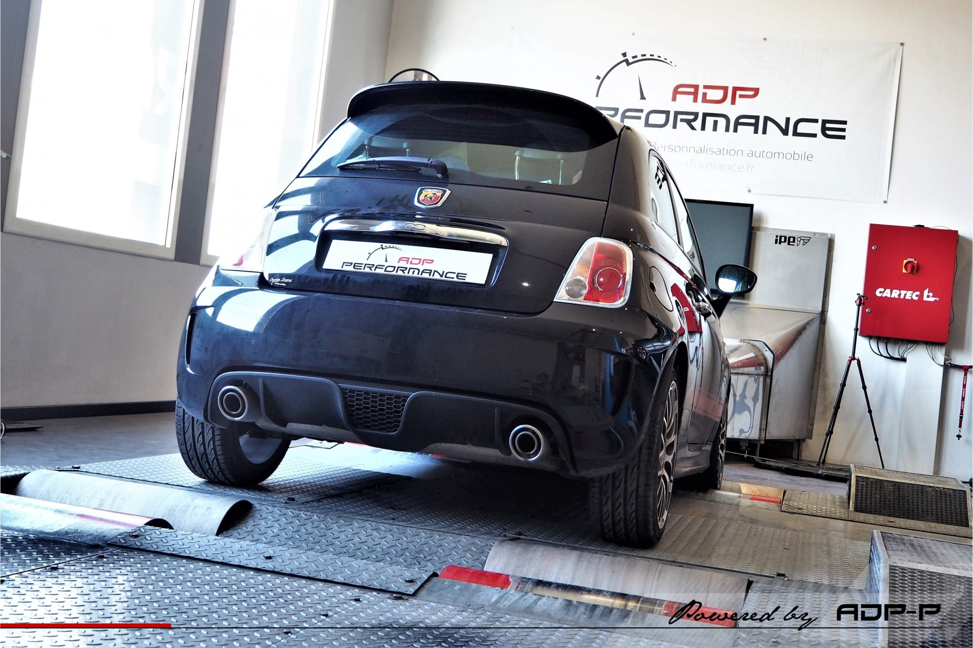 Reprogrammation moteur Vitrolles - Fiat 500 Abarth 1.4 Tjet 135cv - ADP Performance