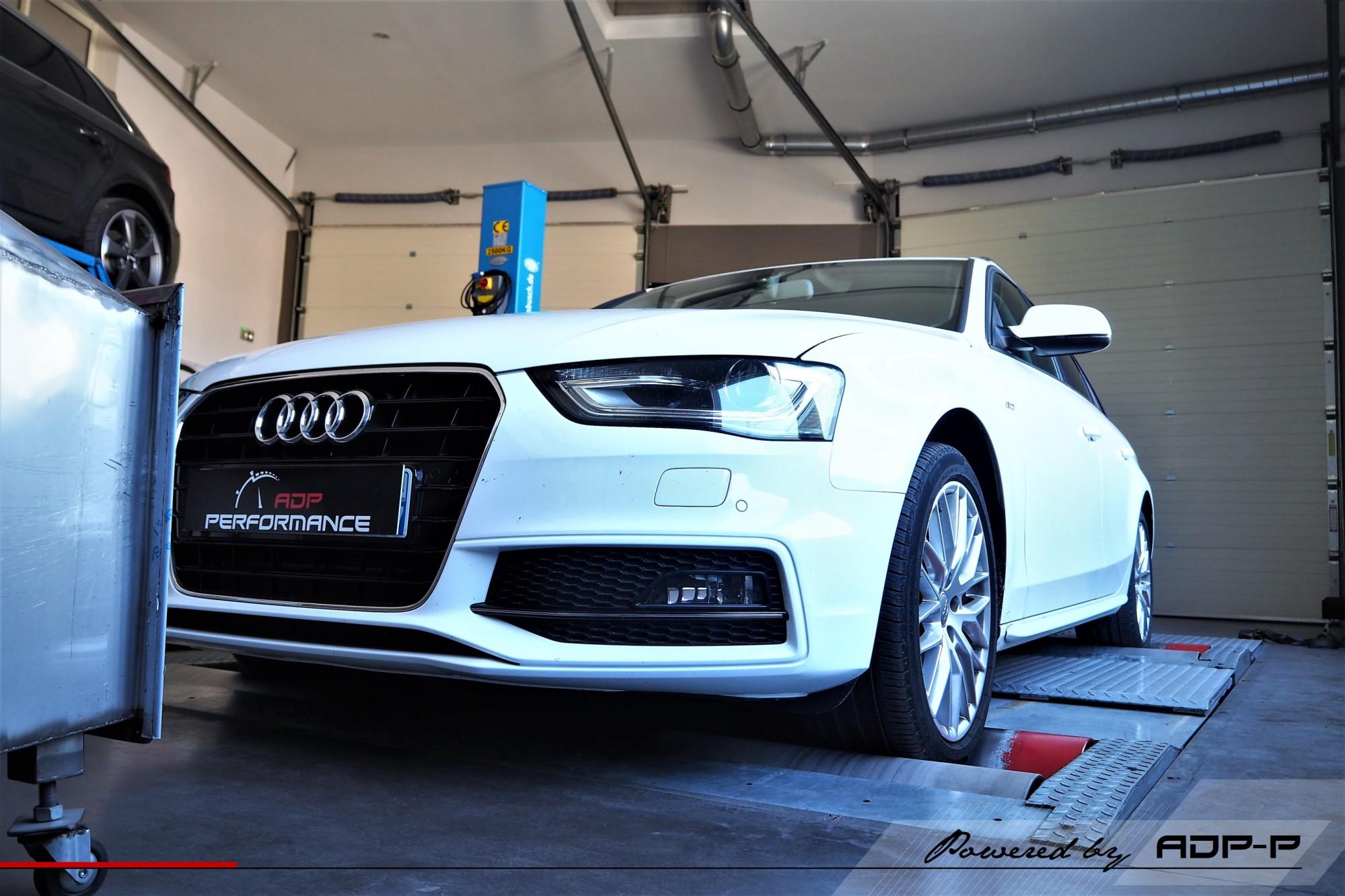 Reprogrammation moteur Eguilles - Audi A4 2.0 TDI 150cv - ADP Performance