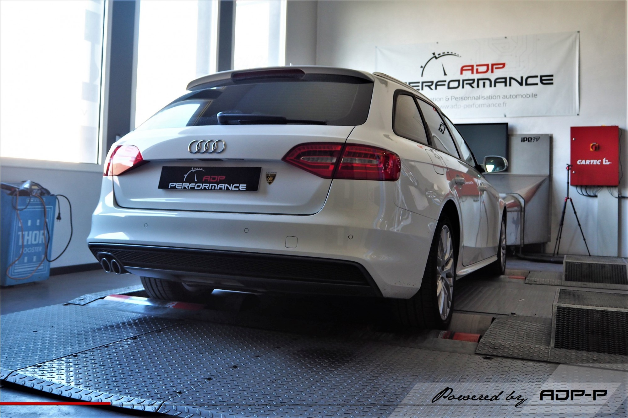 Reprogrammation moteur Gardanne - Audi A4 2.0 TDI 150cv - ADP Performance