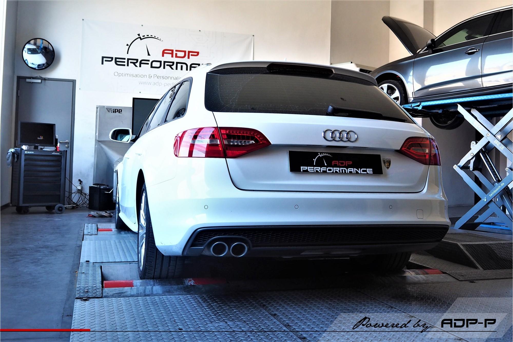 Reprogrammation moteur Aix en Provence - Audi A4 2.0 TDI 150cv - ADP Performance