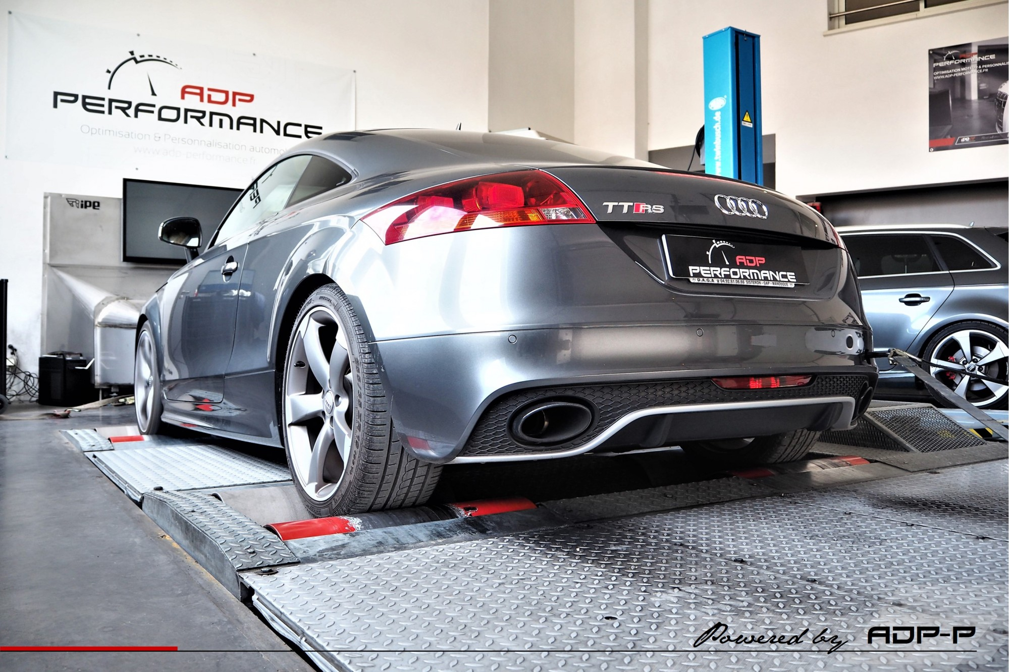 Reprogrammation moteur Stage 2 Manosque - Audi TT RS (8J) 2.5 TFSI 340cv - ADP Performance