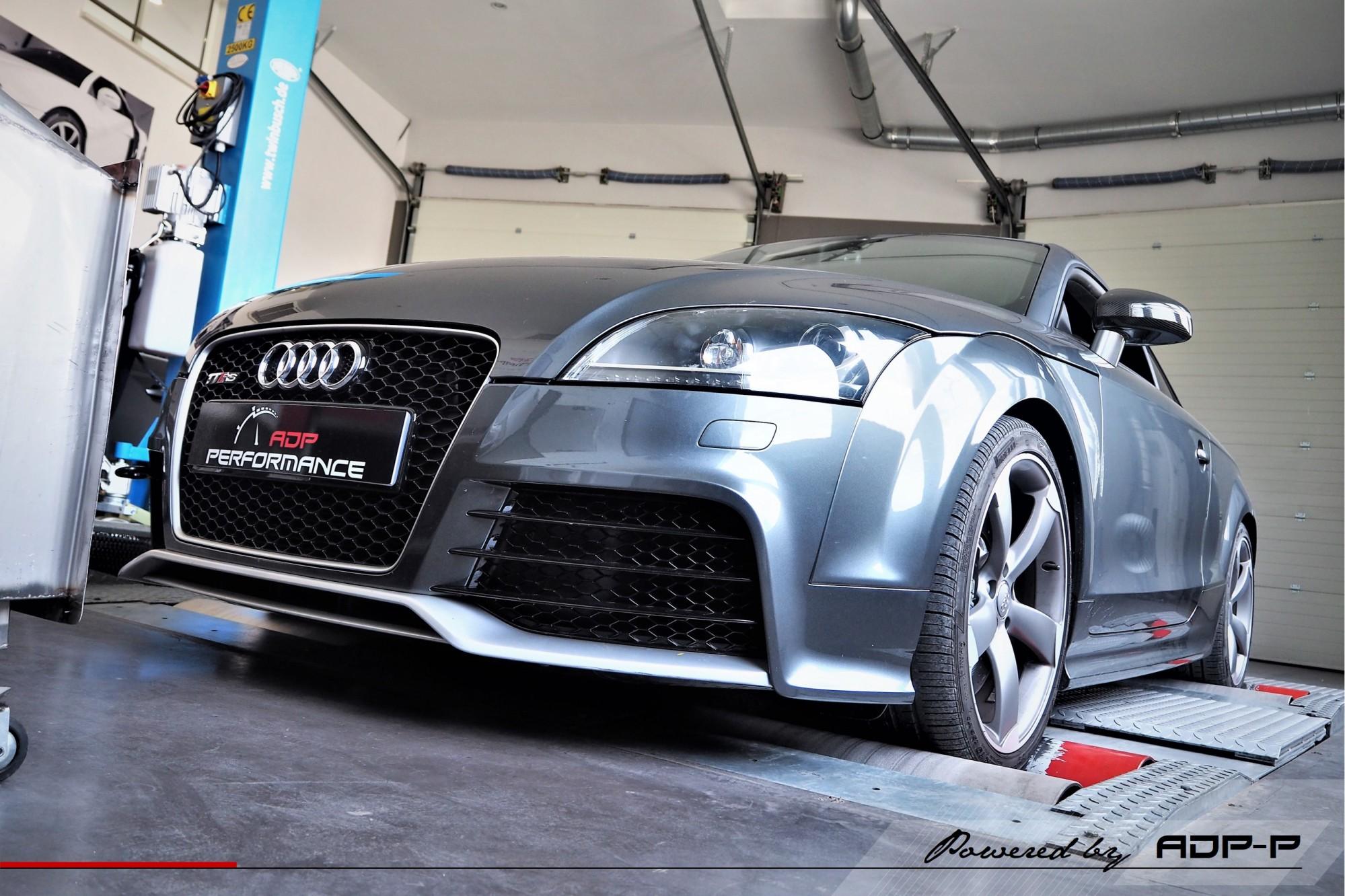 Reprogrammation moteur Stage 2 Aix en Provence - Audi TT RS (8J) 2.5 TFSI 340cv - ADP Performance
