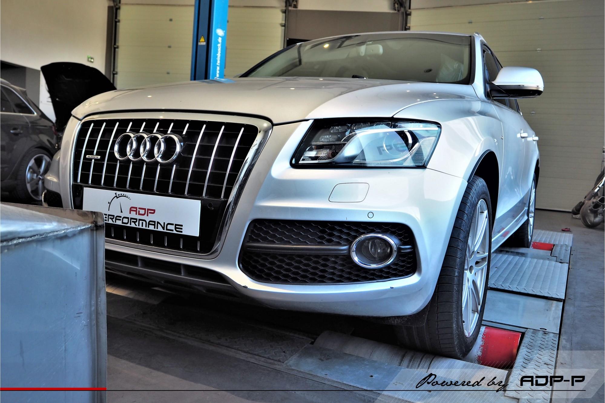 Reprogrammation moteur Salon de Provence - Audi Q5 3.0 V6 TDI 240cv - ADP Performance