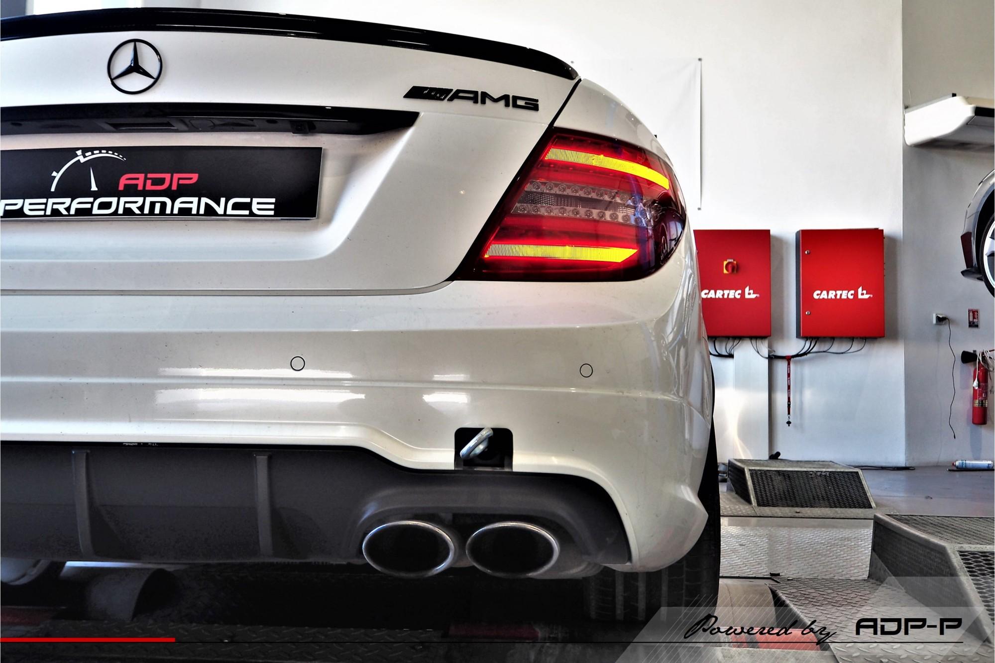Reprogrammation moteur Plan de Campagne - Mercedes C63 AMG 457cv - ADP Performance