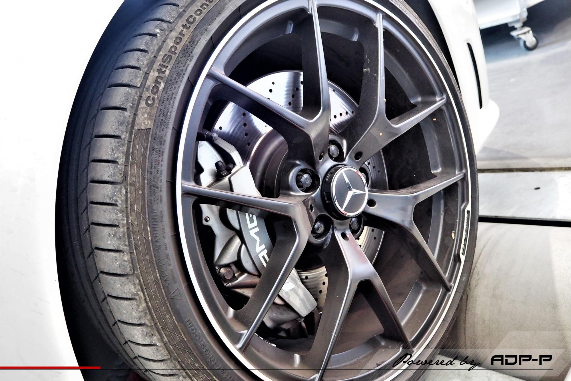 Reprogrammation moteur Arles - Mercedes C63 AMG 457cv - ADP Performance