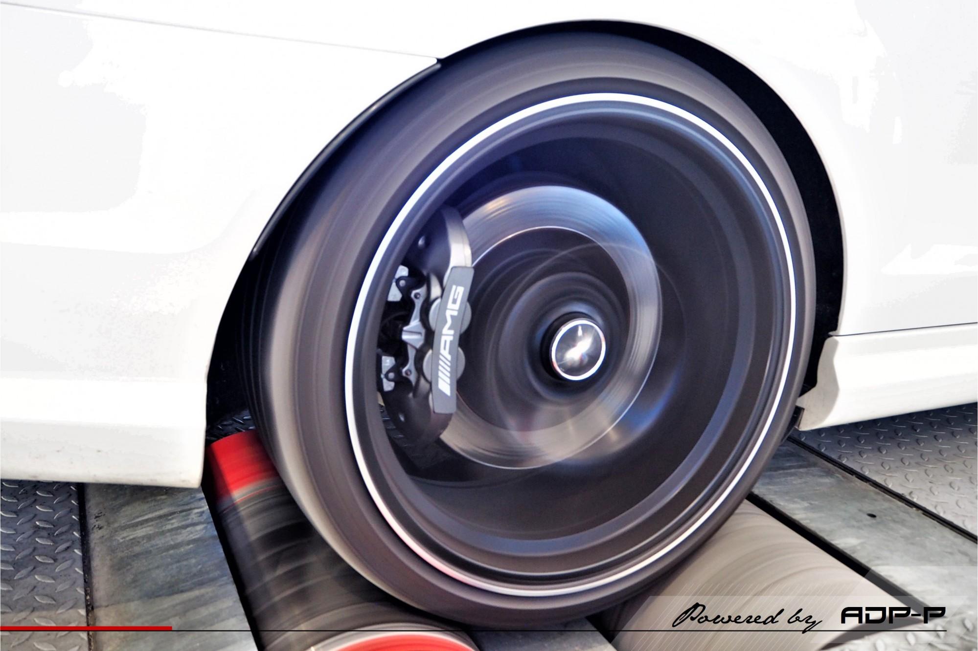Reprogrammation moteur Le Pontet - Mercedes C63 AMG 457cv - ADP Performance
