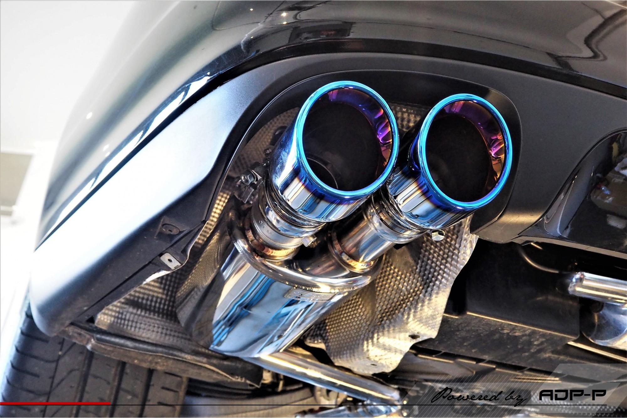 Catback iPE Innotech Cabries - Porsche Panamera Turbo - ADP Performance
