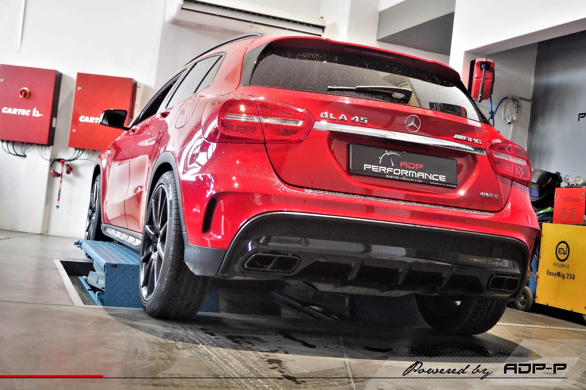 Catback iPE Innotech Avignon - Mercedes GLA 45 AMG 360 PS - ADP Performance