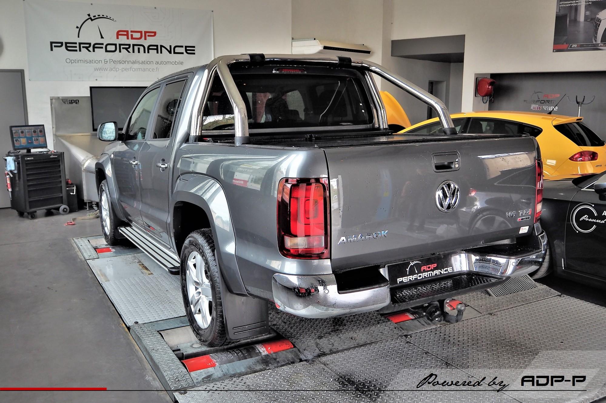 Reprogrammation moteur Aix en Provence - Volkswagen Amarok 3.0 V6 TDI 204cv - ADP Performance