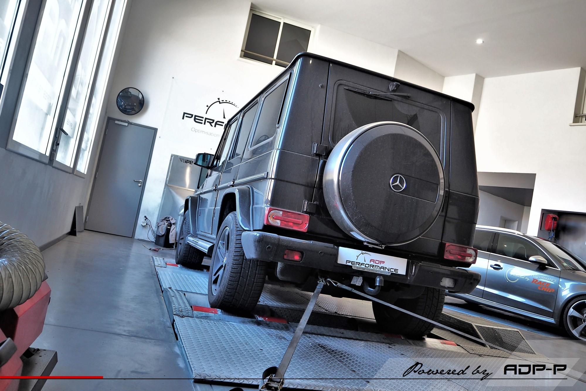 Reprogrammation moteur Avignon - Mercedes G 350 CDI 245cv - ADP Performance