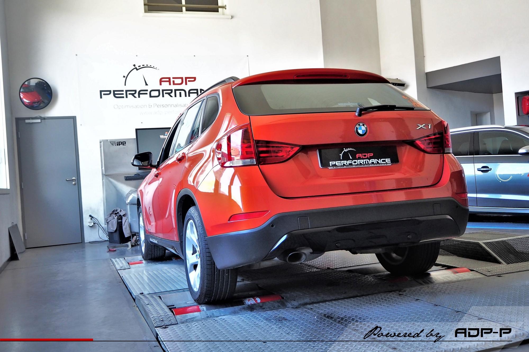 Reprogrammation moteur Les Milles - BMW X1 (E84) 16d 116cv - ADP Performance
