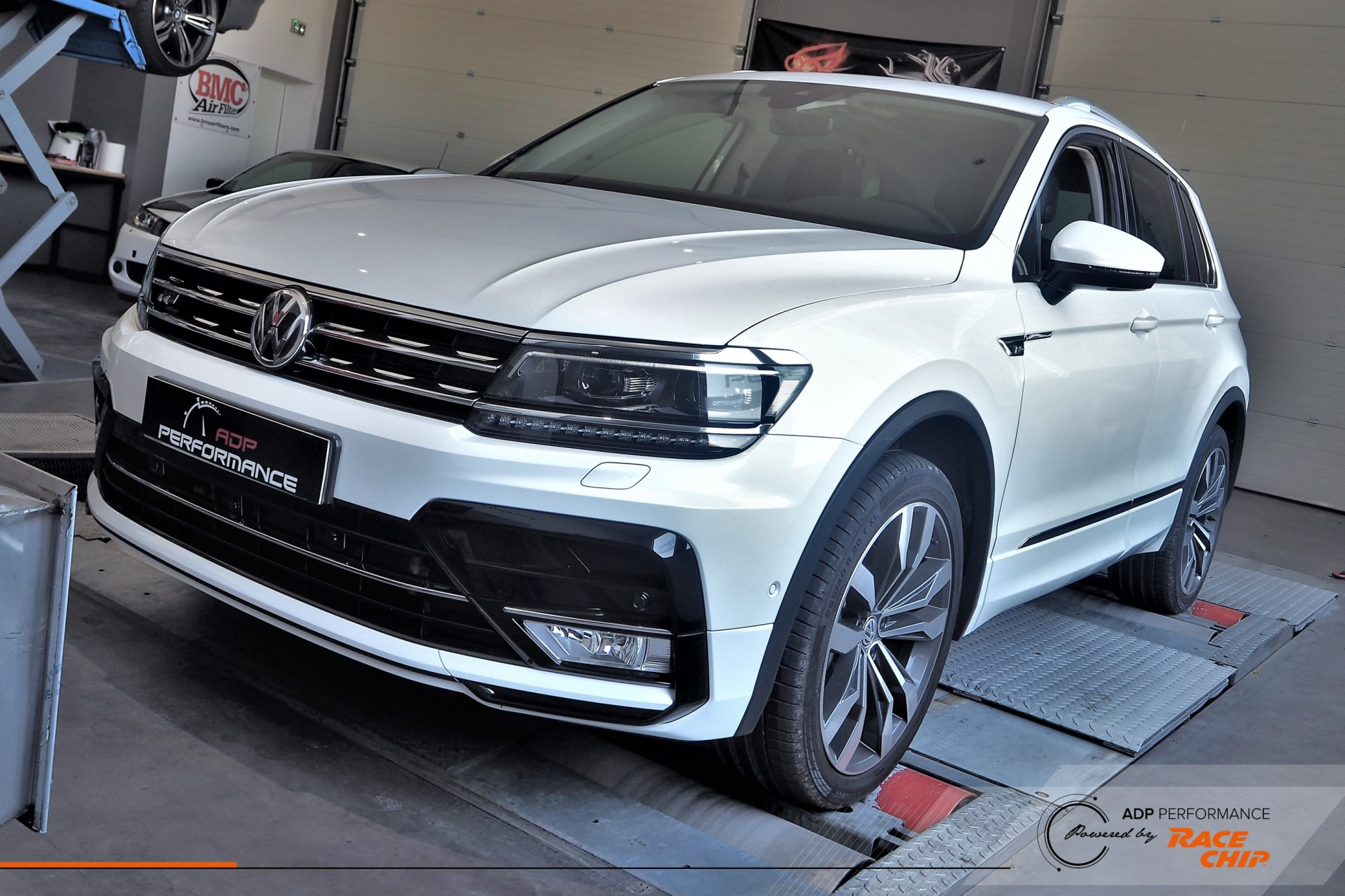RaceChip Ultimate Salon de Provence - VW Tiguan 2.0 TDI Bi Turbo 240cv - ADP Performance
