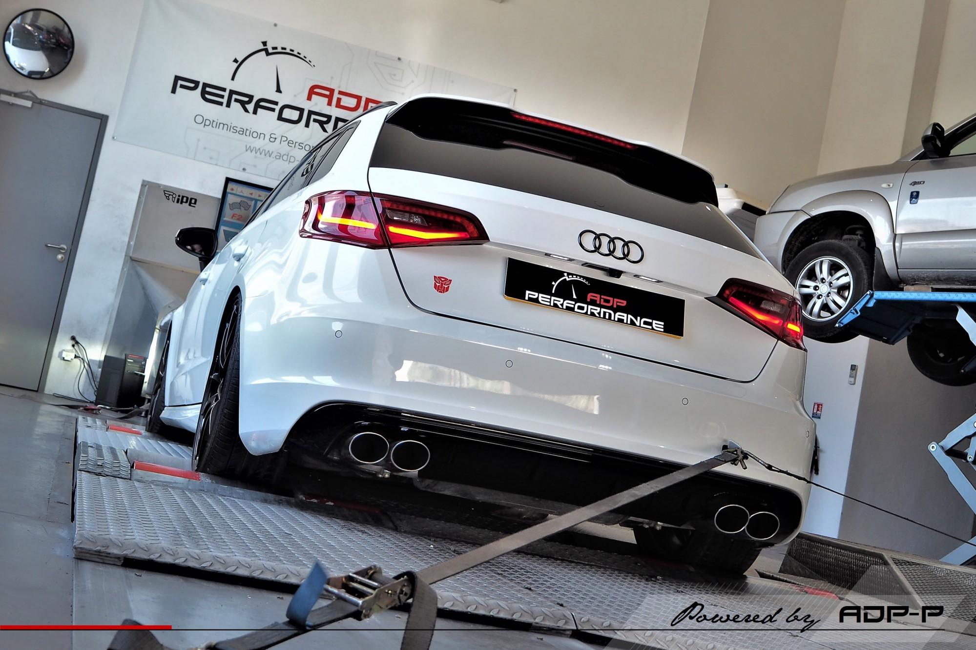 Reprogrammation moteur Stage 2 Le Pontet - Audi S3 8V 2.0 TFSI 300cv - ADP Performance