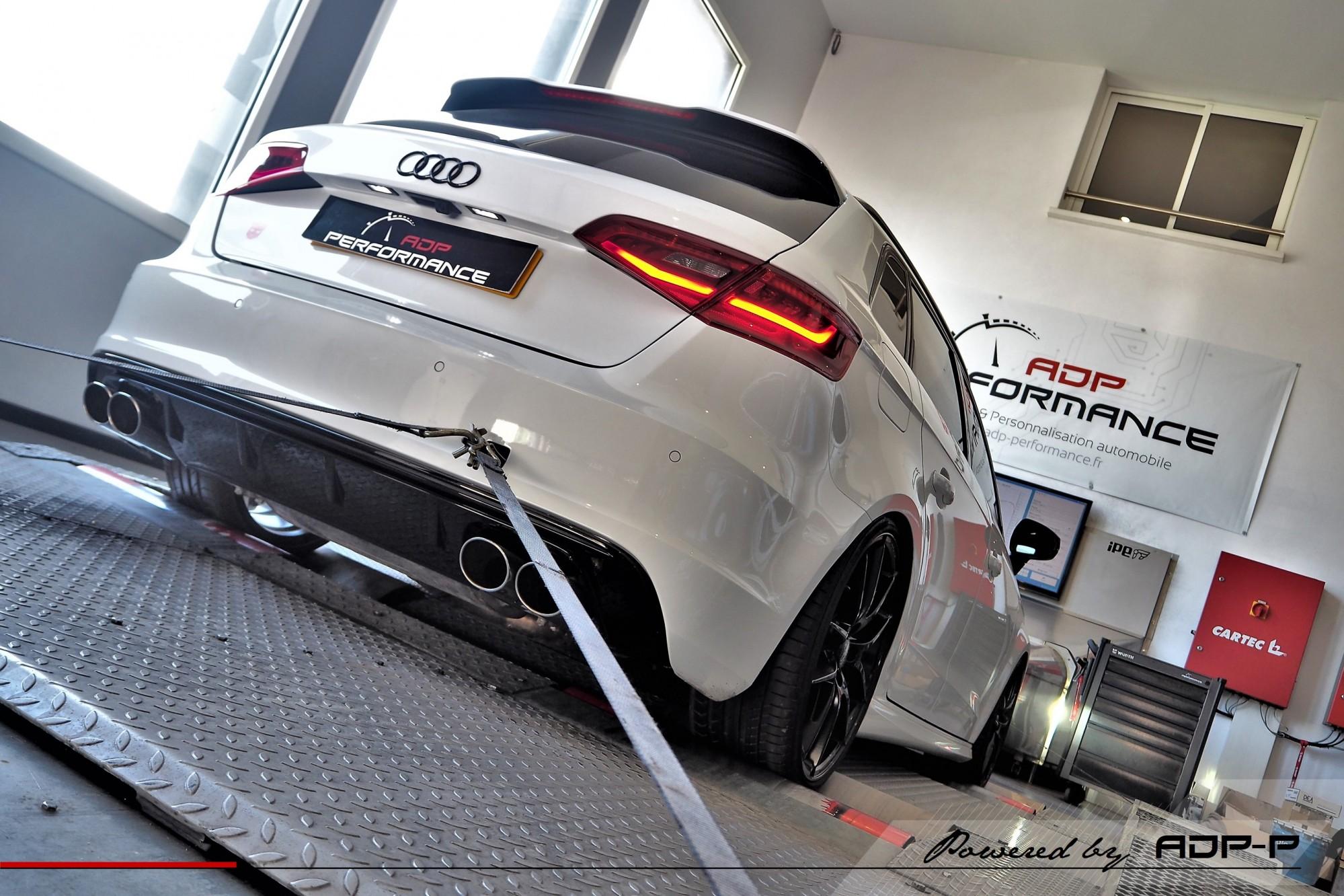 Reprogrammation moteur Stage 2 Aix en Provence - Audi S3 8V 2.0 TFSI 300cv - ADP Performance