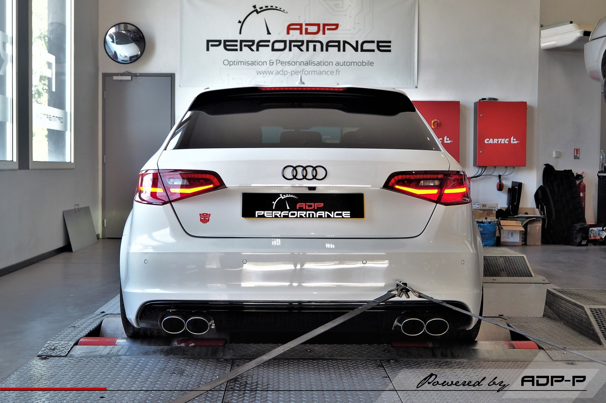 Reprogrammation moteur Stage 2 - Audi S3 8V 2.0 TFSI 300cv Avignon - ADP Performance