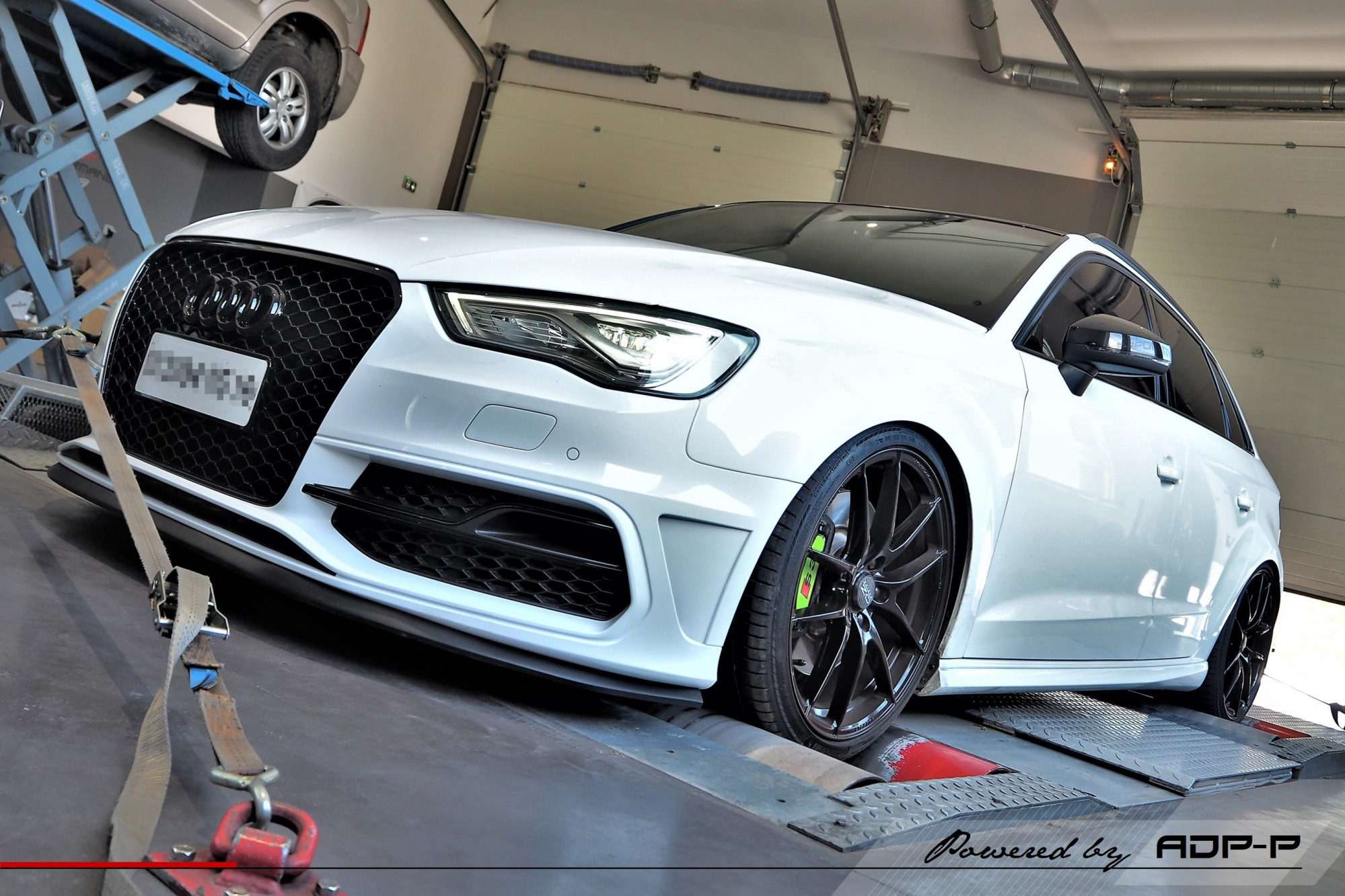 Reprogrammation moteur Stage 2 Marseille - Audi S3 8V 2.0 TFSI 300cv - ADP Performance