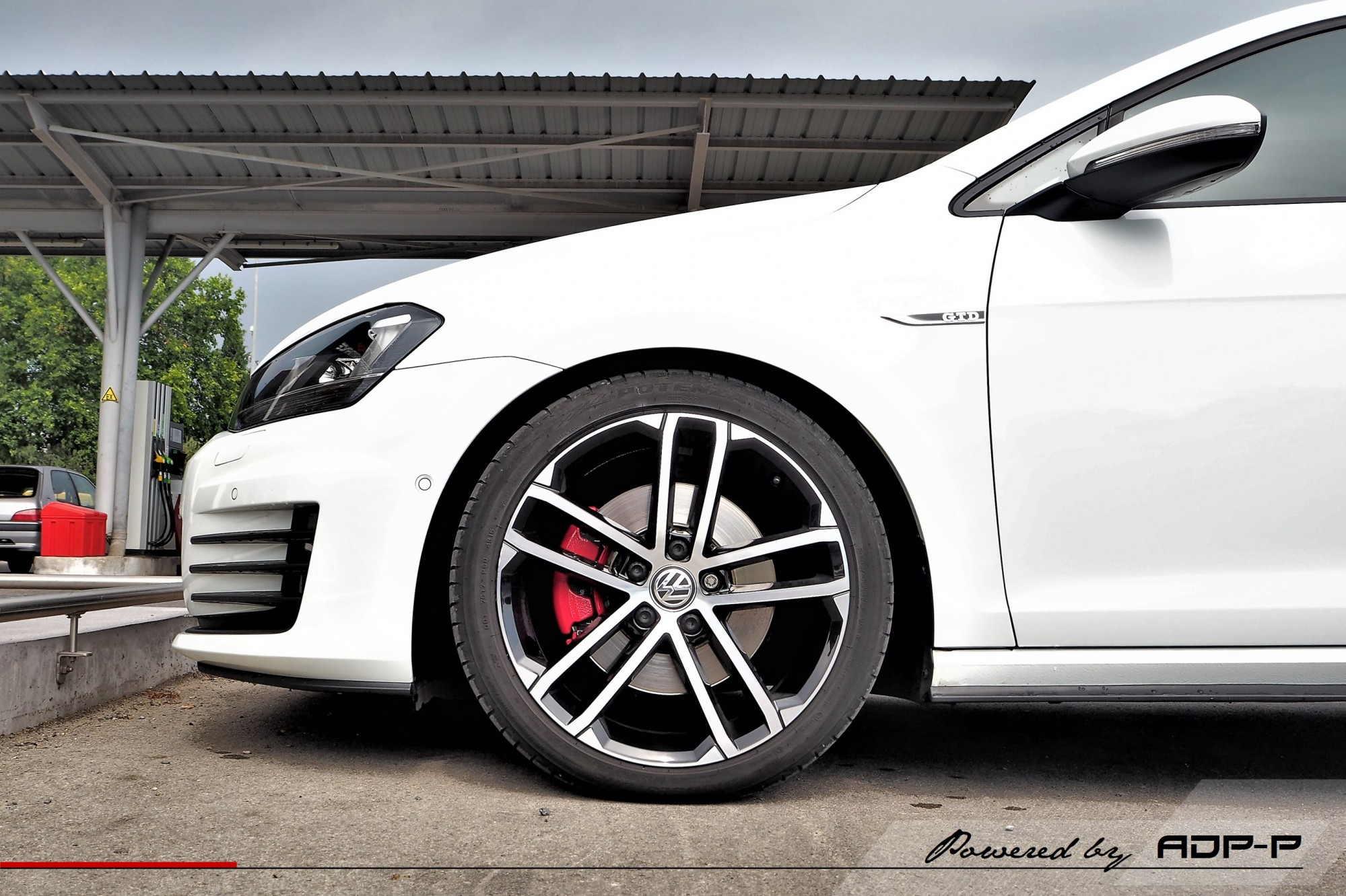 Ressorts courts Eibach VW Golf 7 GTD Avignon - ADP Performance