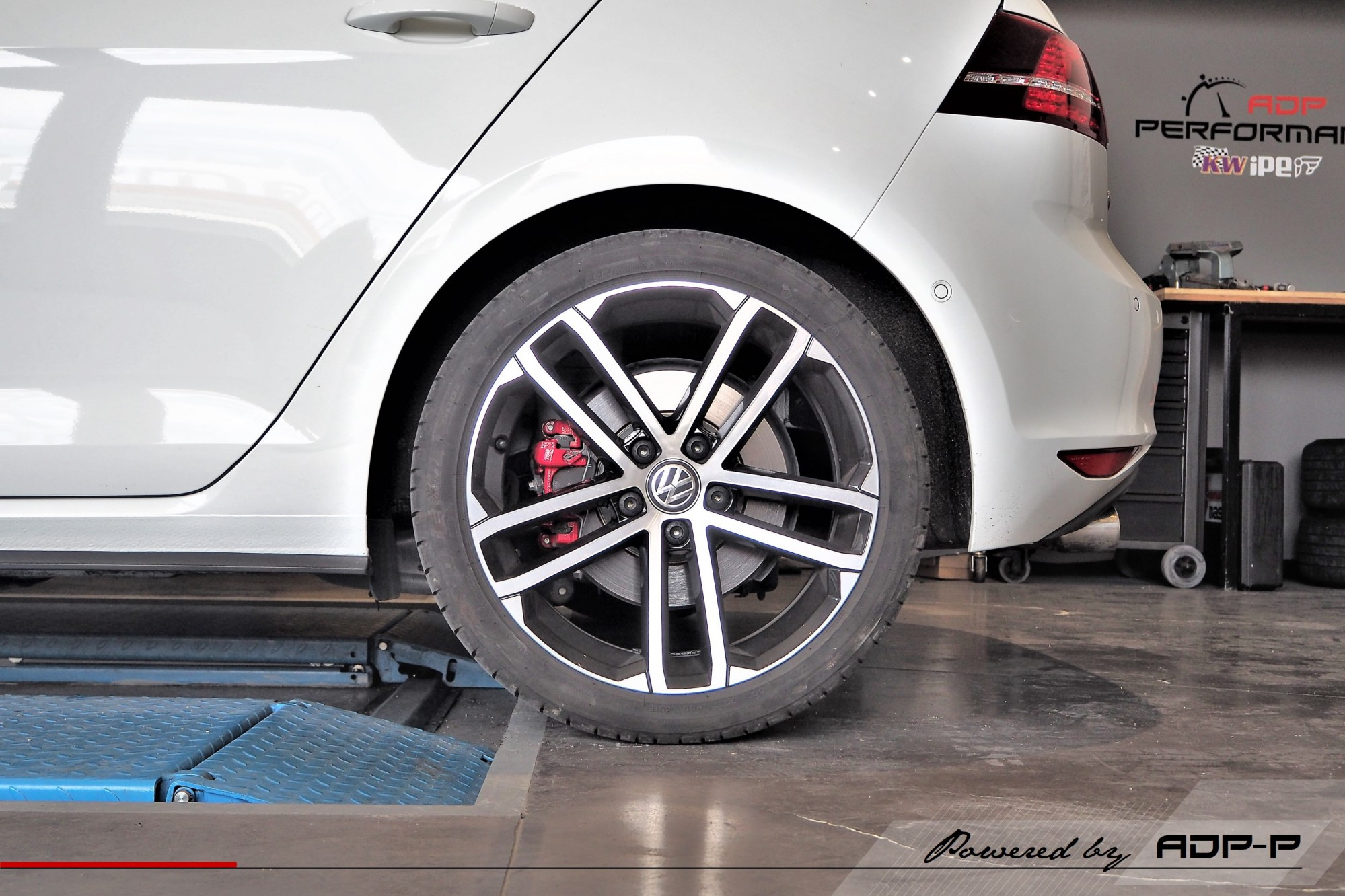 Ressorts courts Eibach VW Golf 7 GTD Le Pontet - ADP Performance