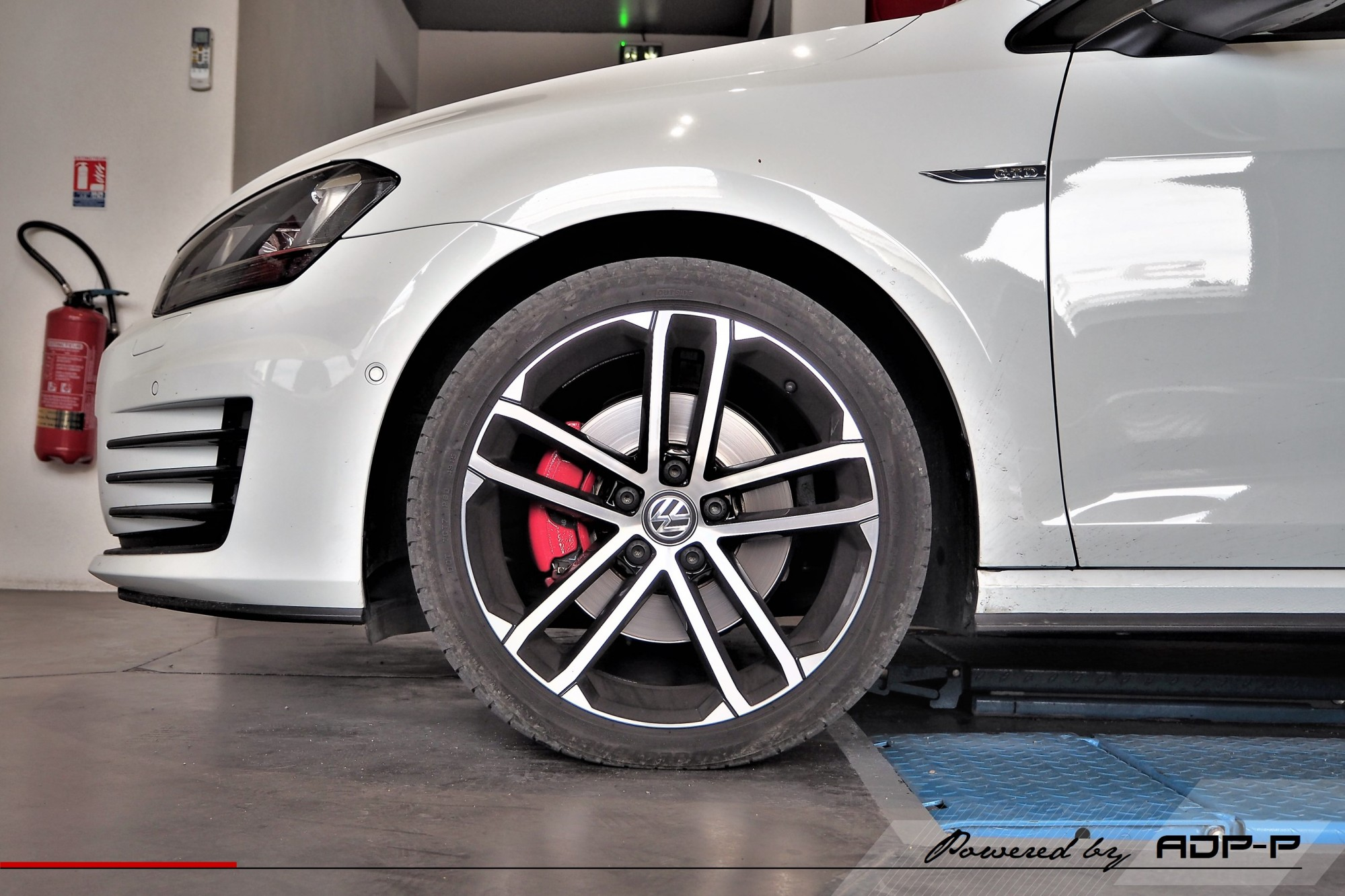 Ressorts courts Eibach VW Golf 7 GTD Plan de Campagne - ADP Performance