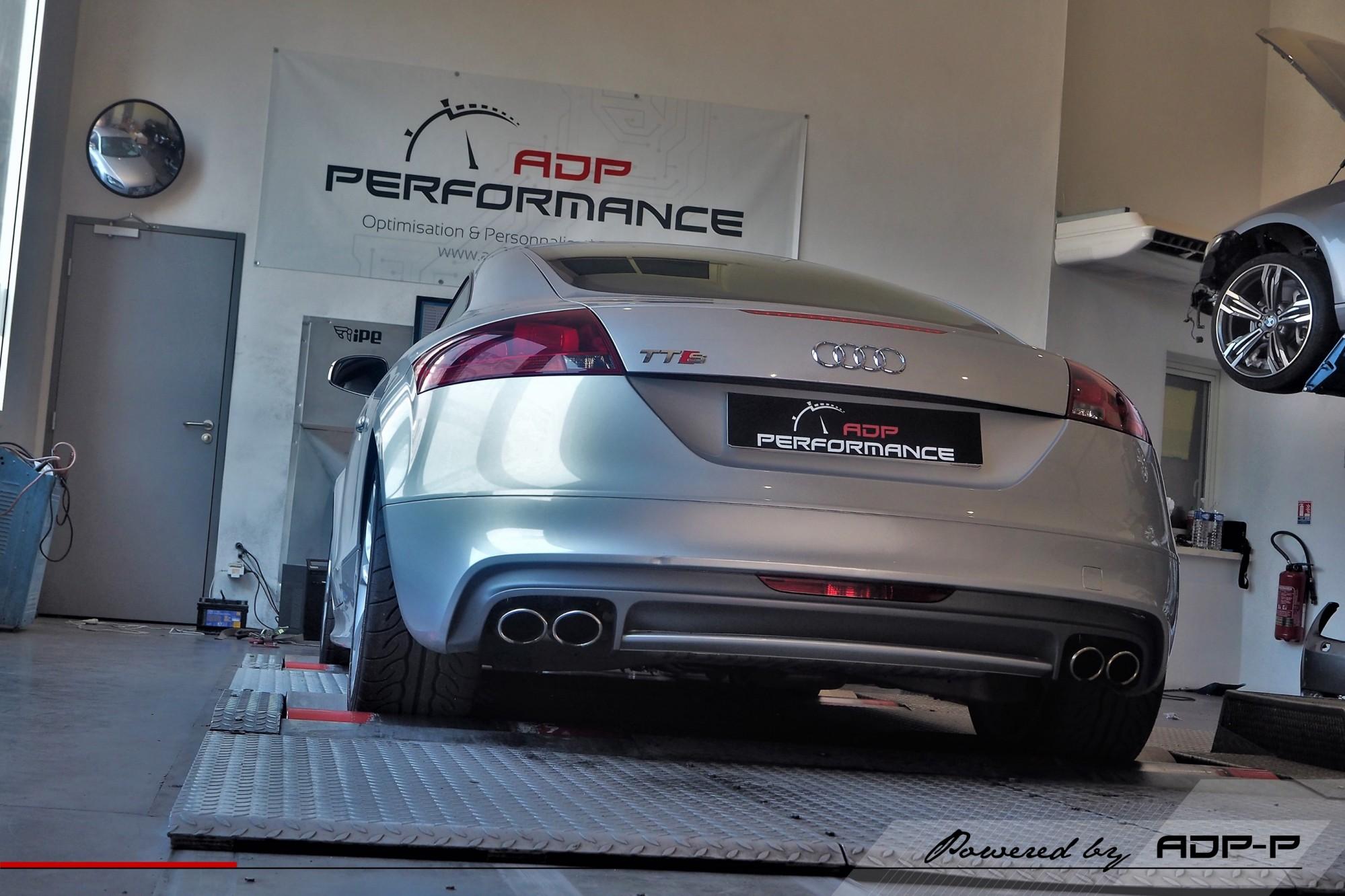 Reprogrammation moteur Cavaillon - Audi TT S 2.0 TFSI 272cv - ADP Performance