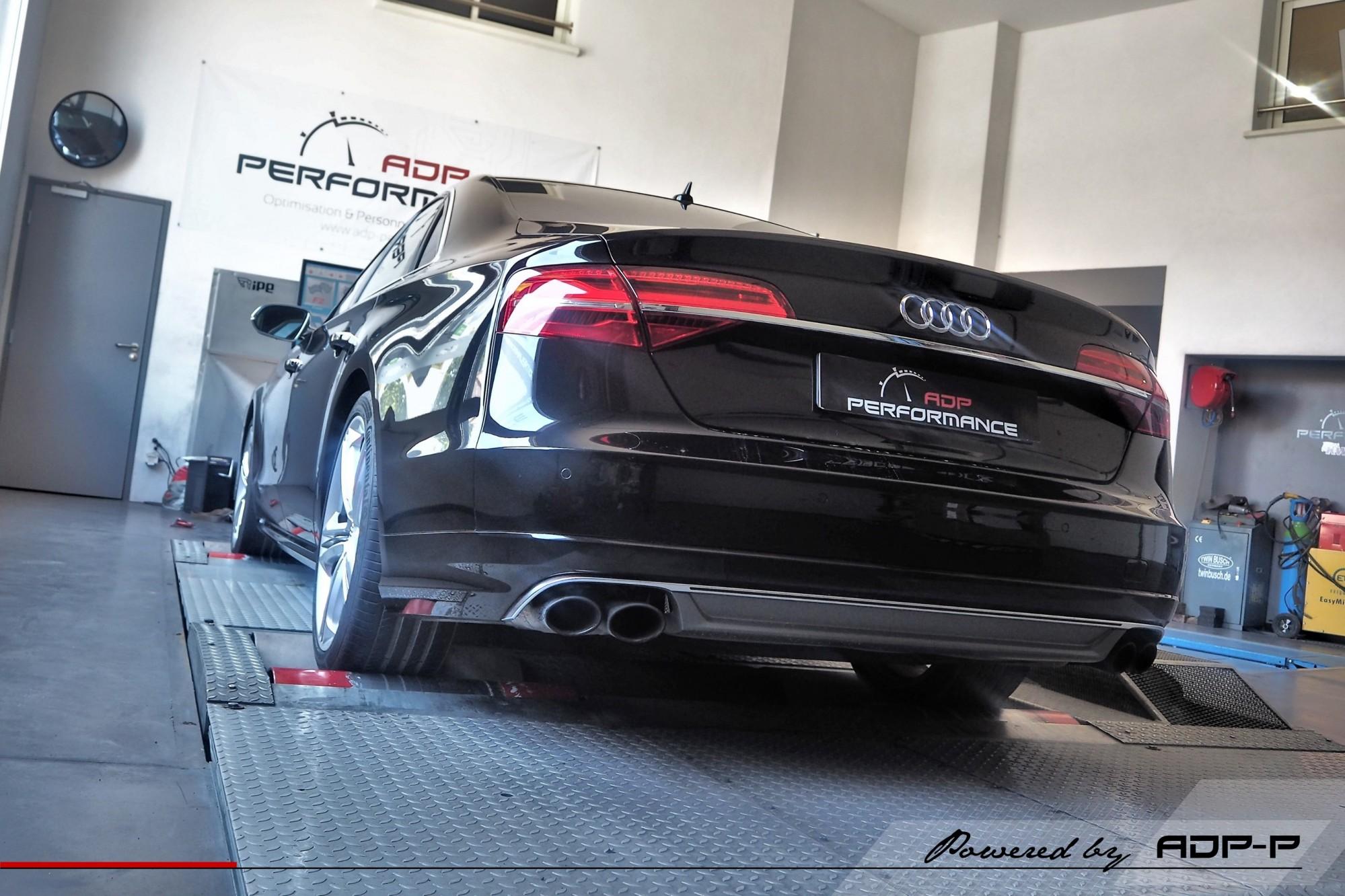 Reprogrammation moteur Eguilles, Saint Cannat - Audi S8 4.0 TFSI 520cv - ADP Performance