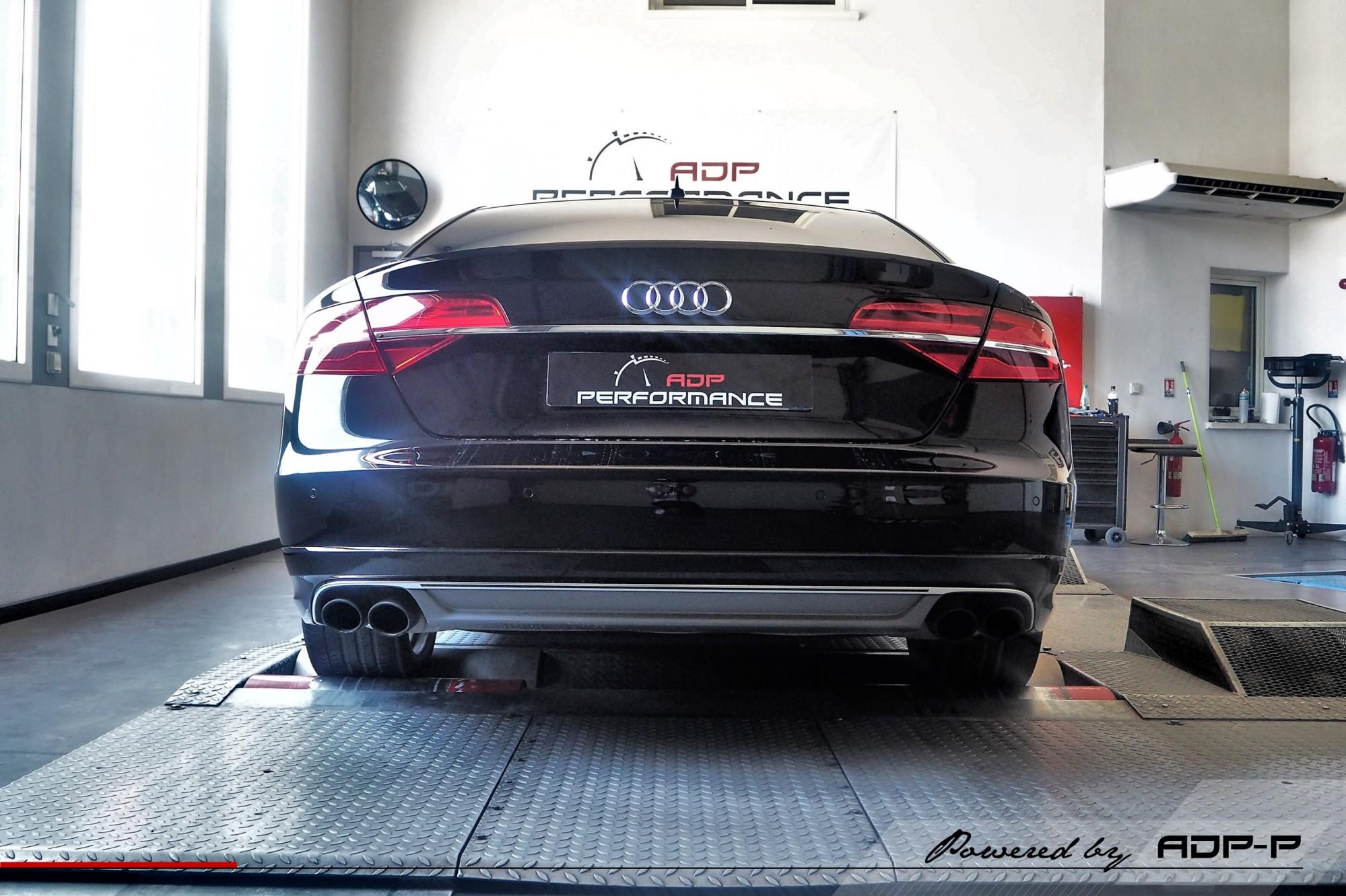Reprogrammation moteur Aix en Provence - Audi S8 4.0 TFSI 520cv - ADP Performance