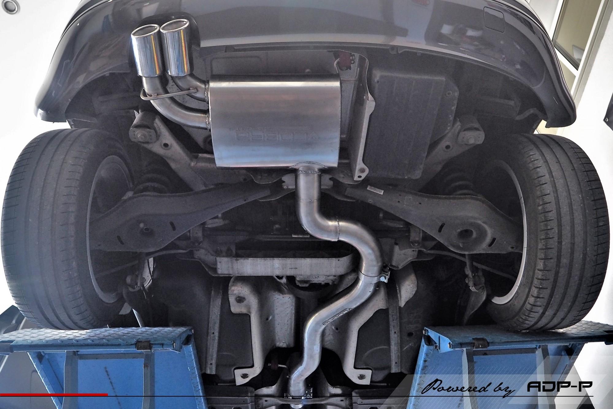 Echappement Cobra Le Pontet - Audi A3 8P ADP Performance