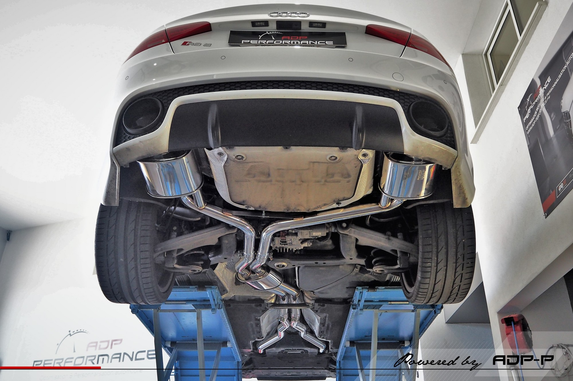 Catback Armytrix Montpellier - Audi RS5 - ADP Performance
