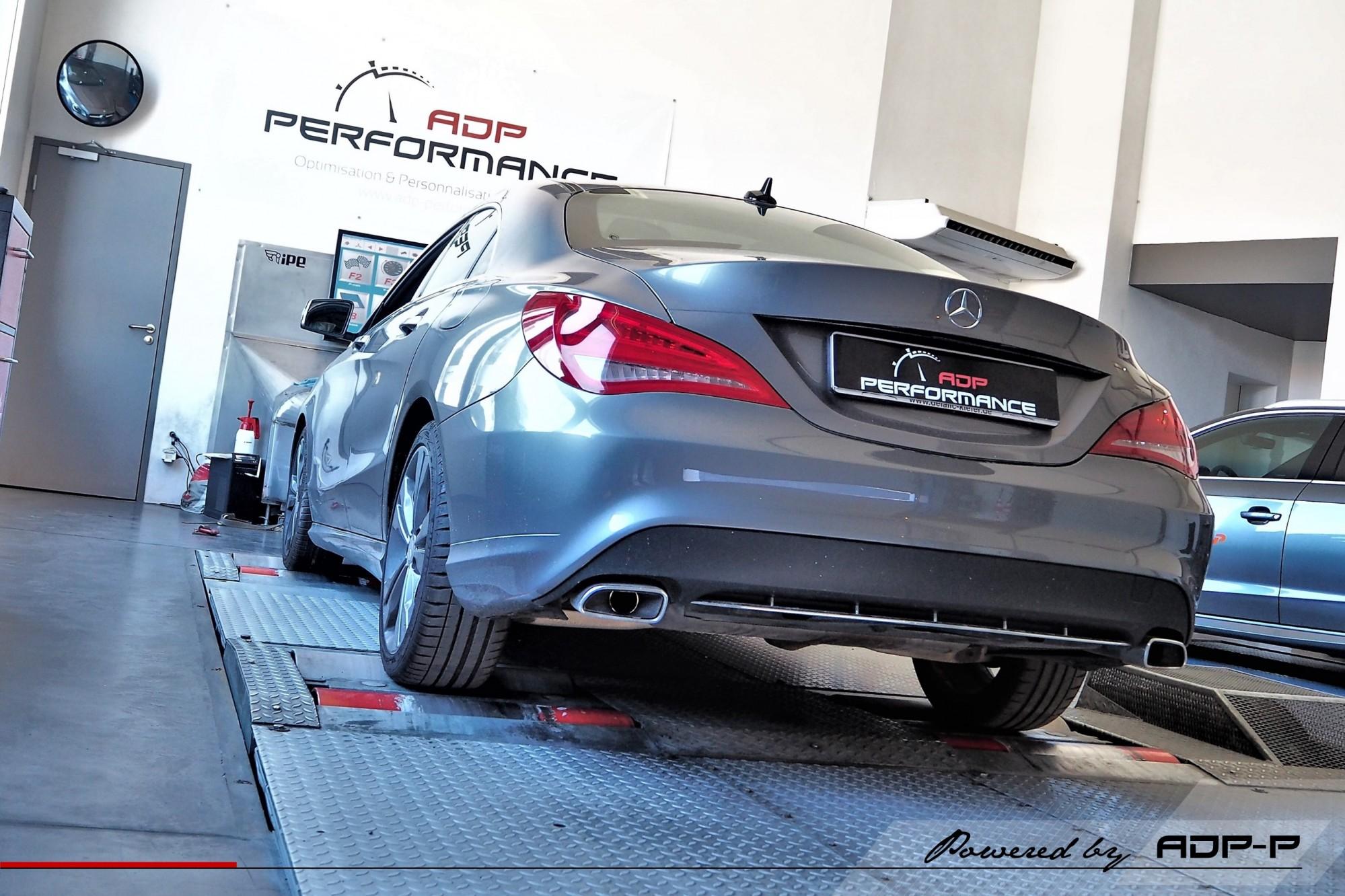 Reprogrammation moteur St Victoret, Marseille - Mercedes CLA 220 CDI 177cv - ADP Performance