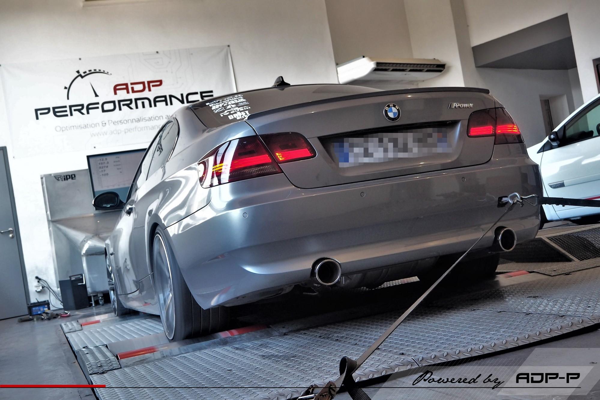 Reprogrammation moteur Stage 3 Salon de Provence - BMW 335i N54 306cv - ADP Performance