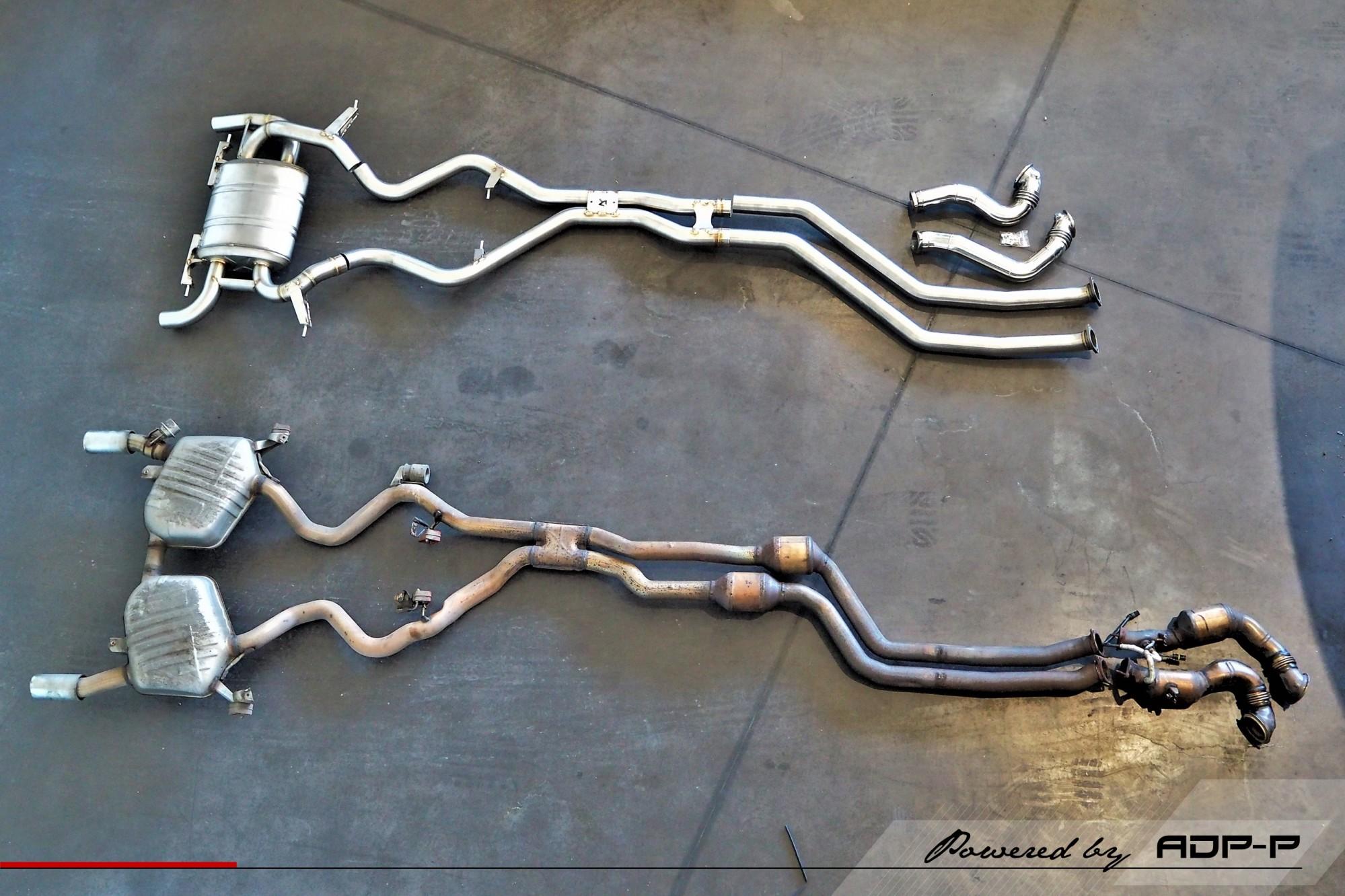 Ligne complète Akrapovic Salon de Provence - BMW 335i N54 - ADP Performance